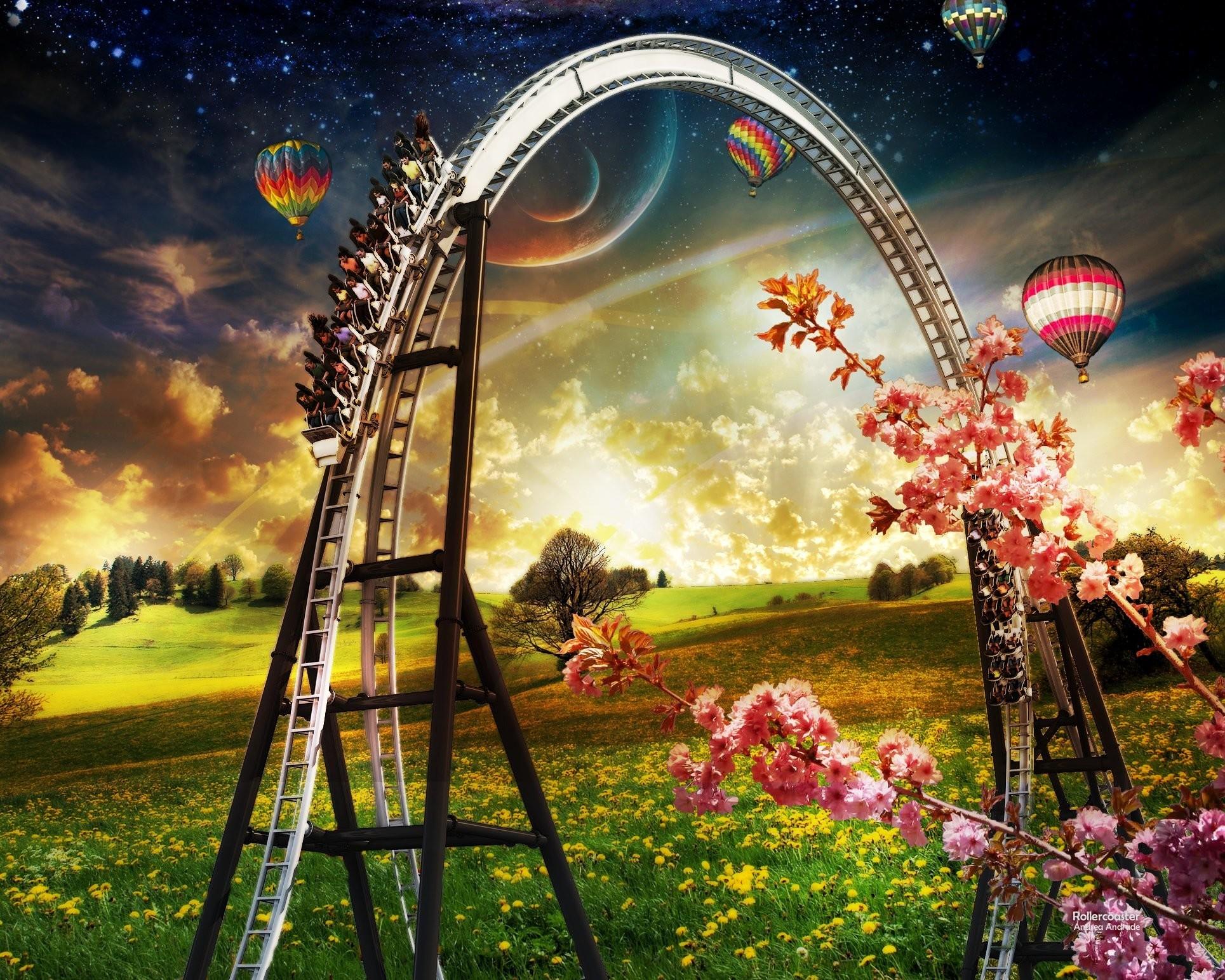 Roller Coaster Wallpaper (67+ images)