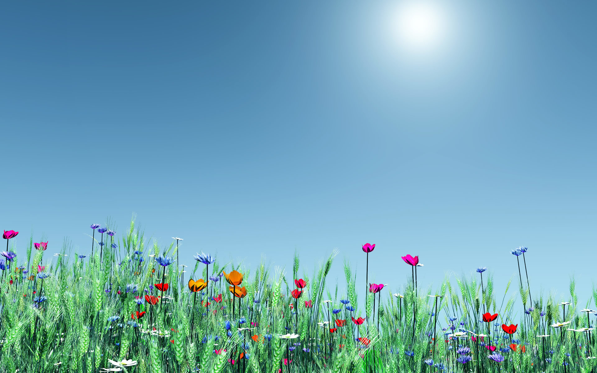 1920x1200 spring flowers background widescreen Wallpaper HD