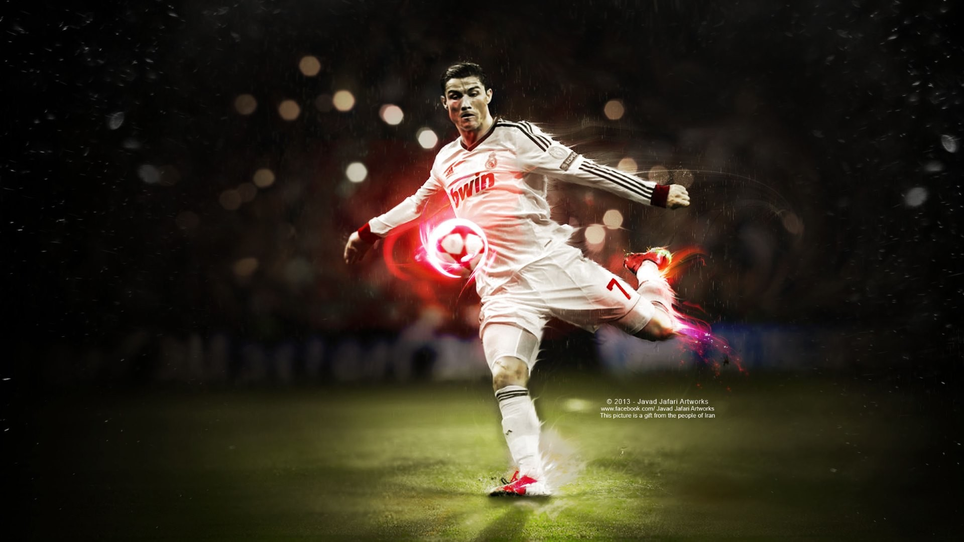1920x1080 Ronaldo A Football WallpaperSports
