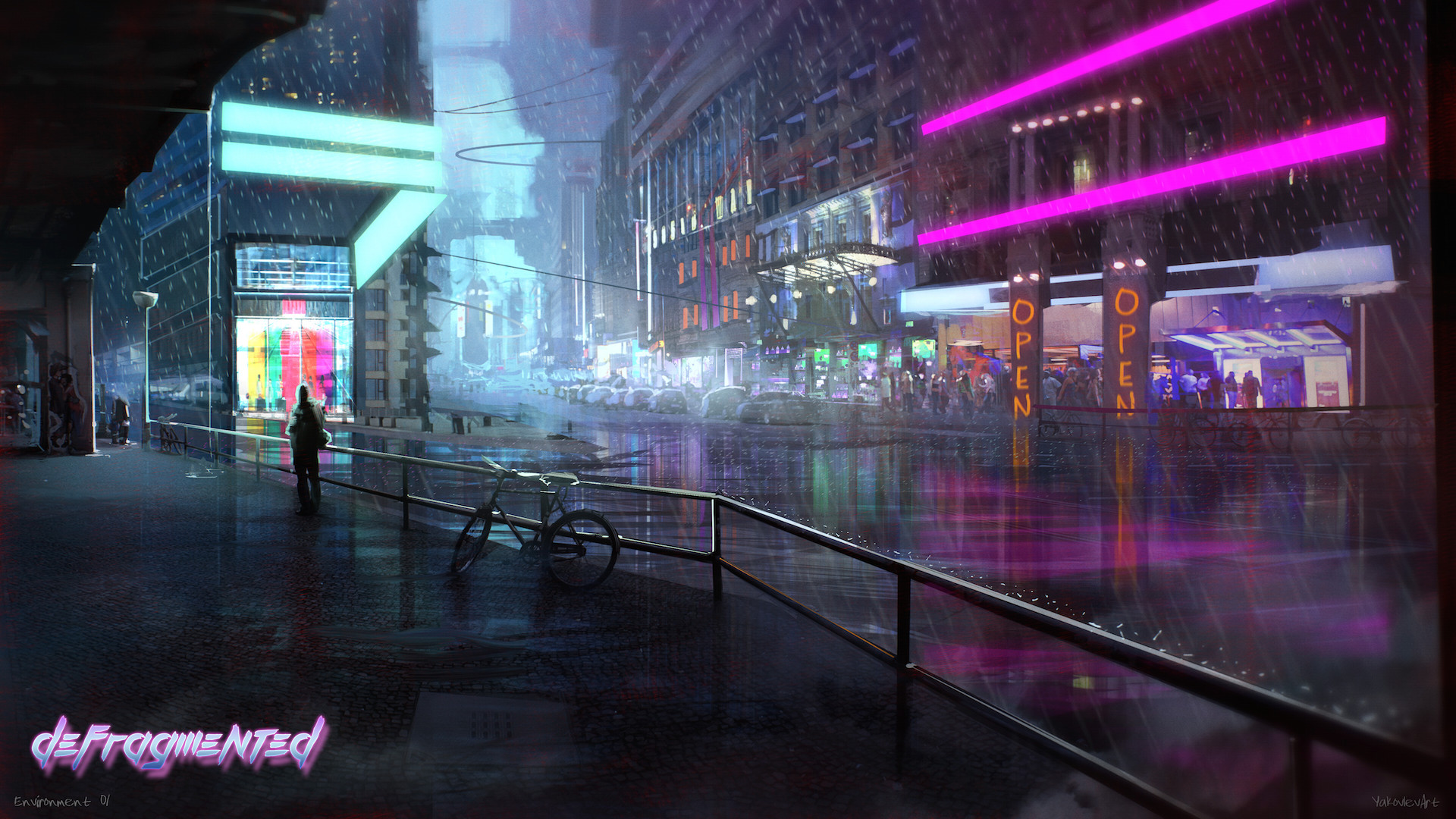 Cyberpunk wallpaper 84 images 1357x1920 anime girls cyberpunk warrior blood wallpapers hd desktop and mobile backgrounds voltagebd Images