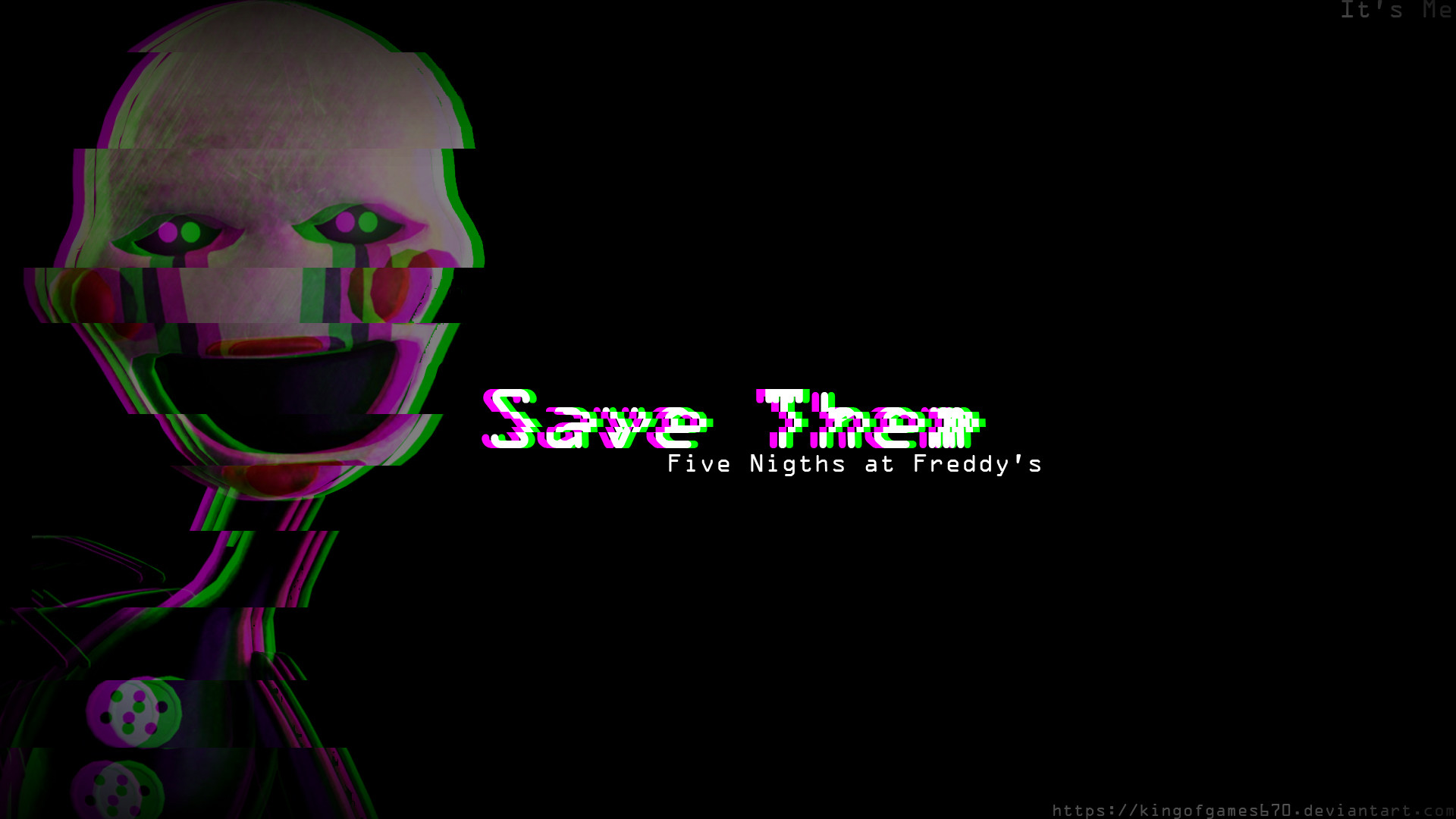1920x1080 ... Five Nights at Freddy's Save Them by Kiriga-me