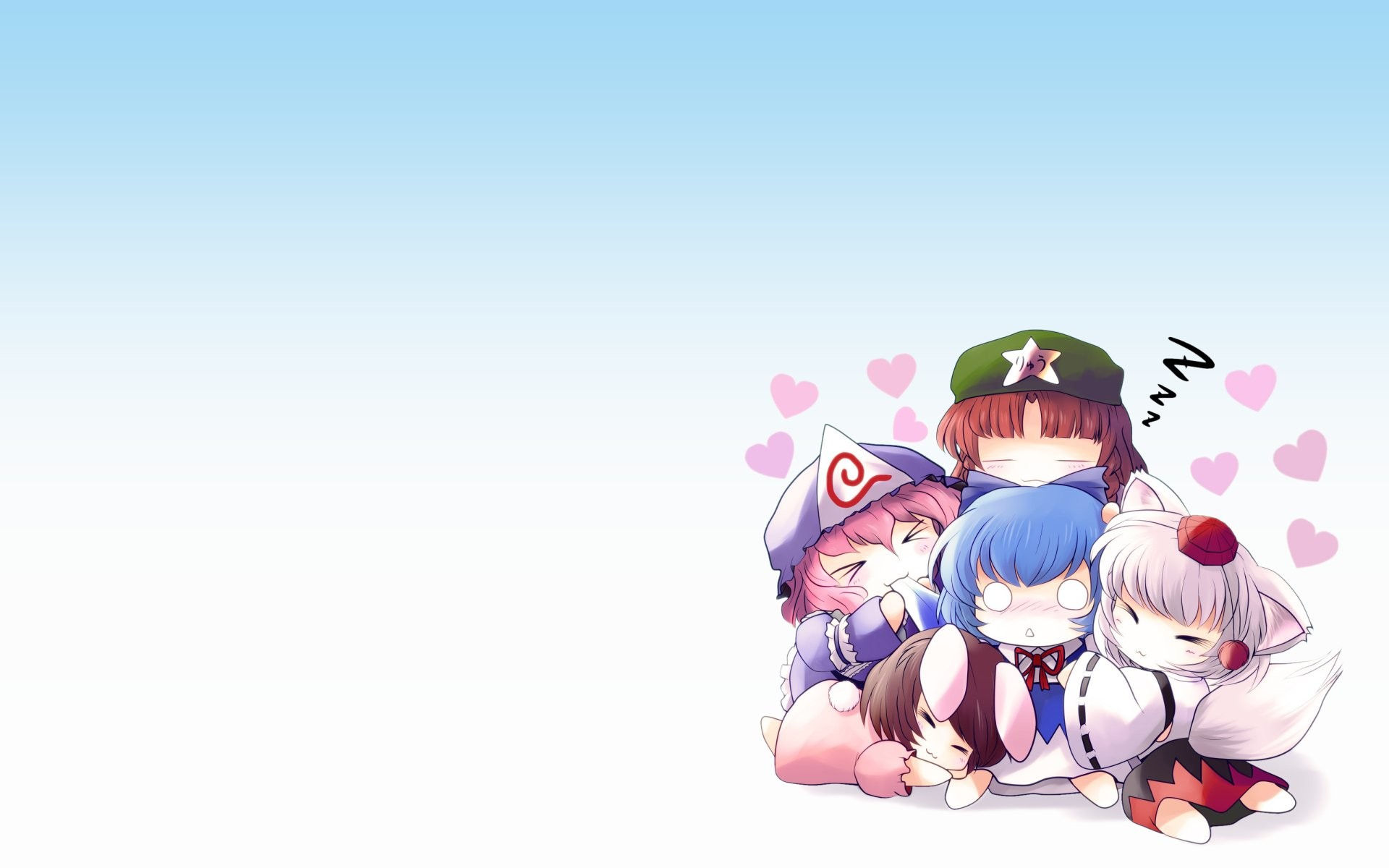 Vocaloid Chibi Group Wallpaper Cute Anime Background ...