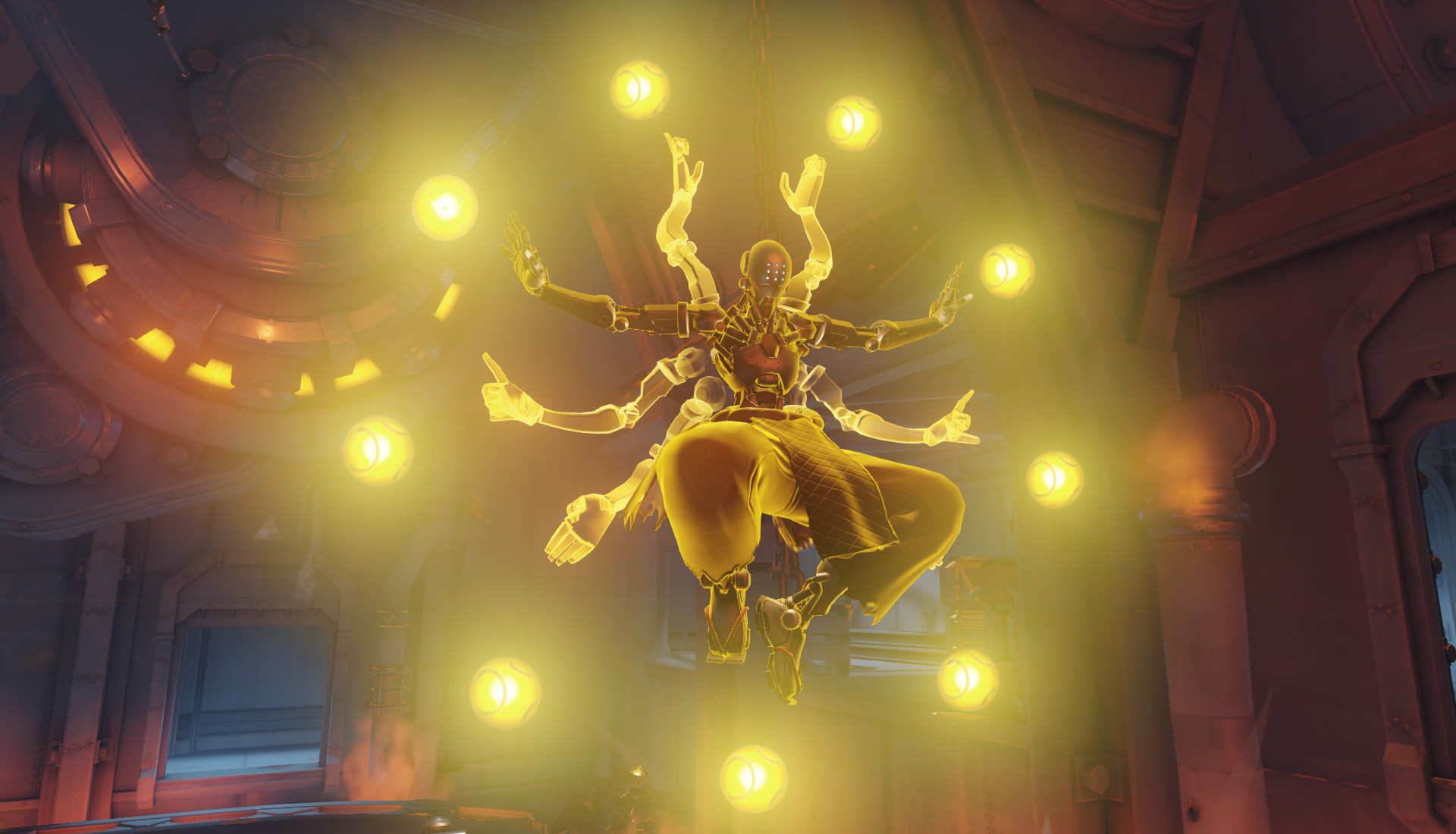 1920x1100 Screenshot: Zenyatta