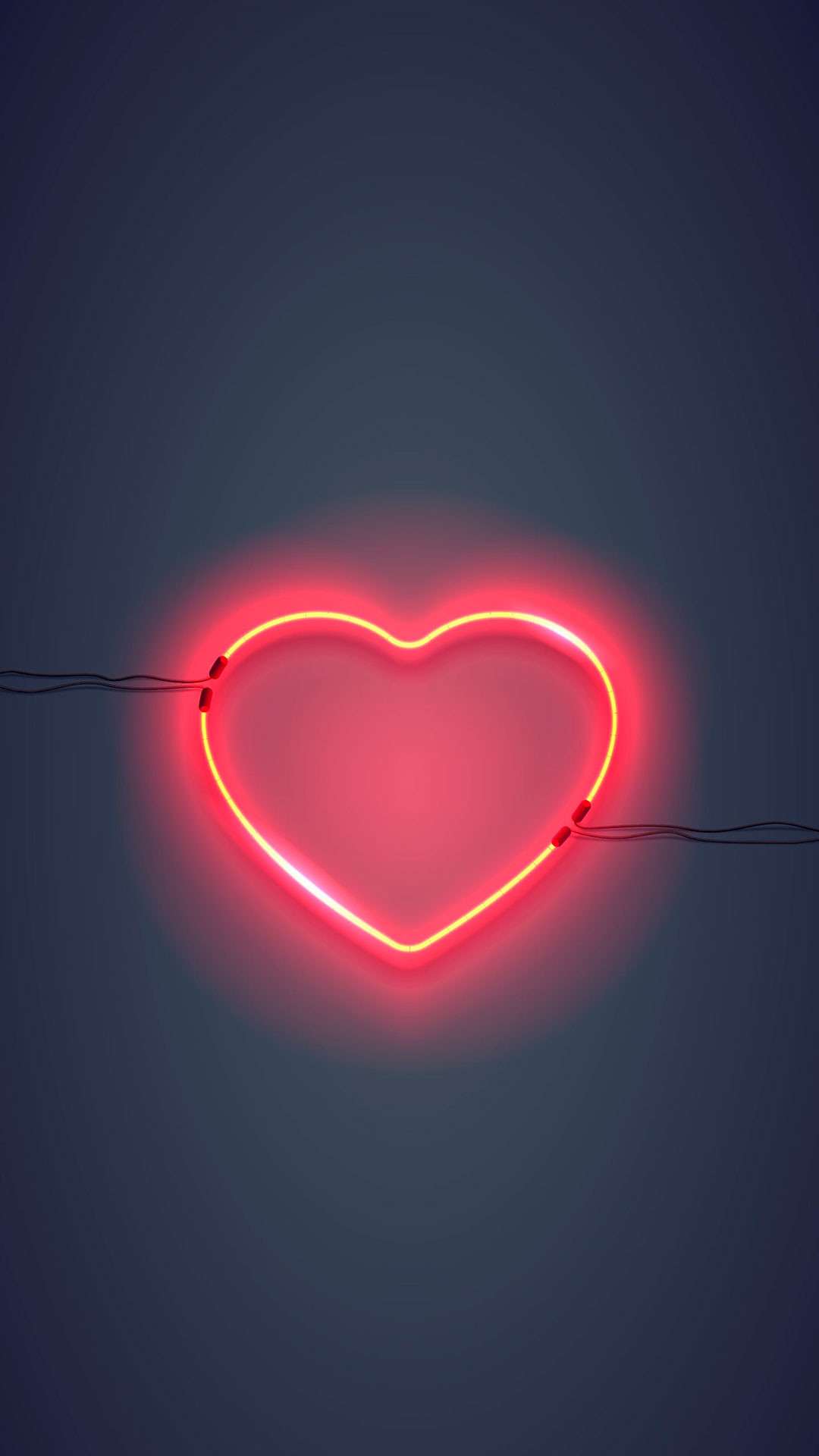 1080x1920  iPhone wallpaper neon sign heart Neon Sign. 9 · Download · Res:   ...