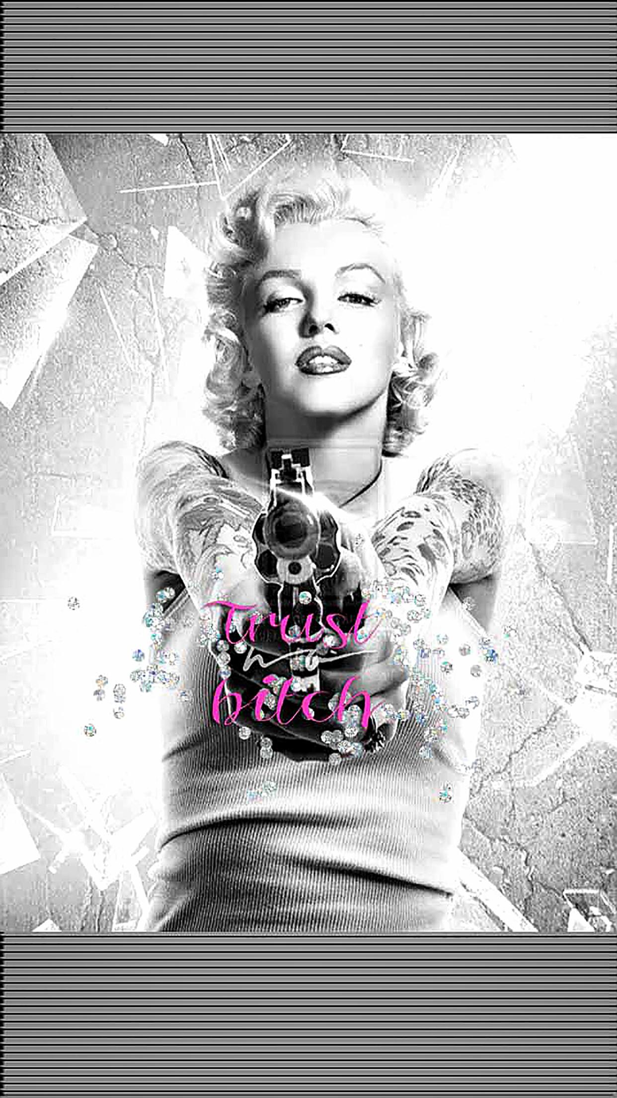 Tattooed Marilyn Monroe Wallpaper (63+ images)