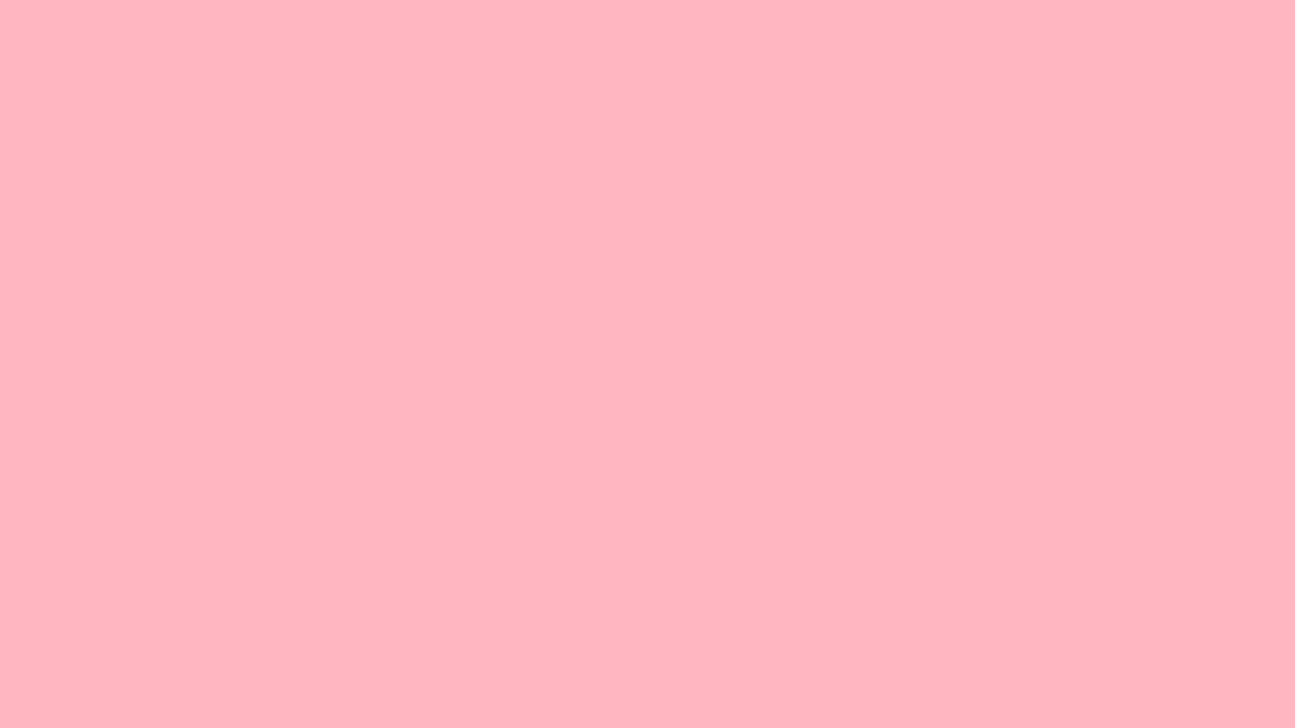 2560x1440 Light Pink Solid Color Wallpaper 973