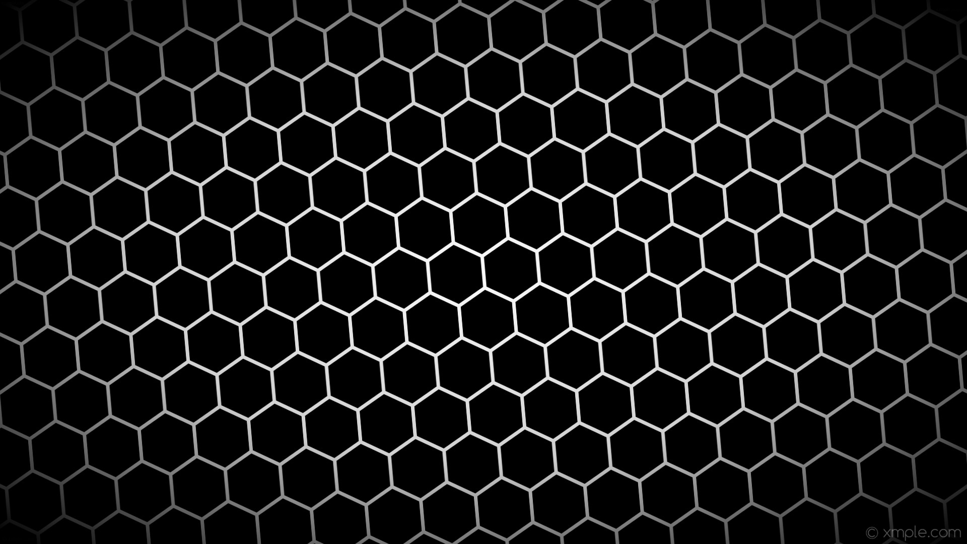 1920x1080 wallpaper black hexagon white gradient glow grey light gray #000000 #ffffff  #d3d3d3 diagonal