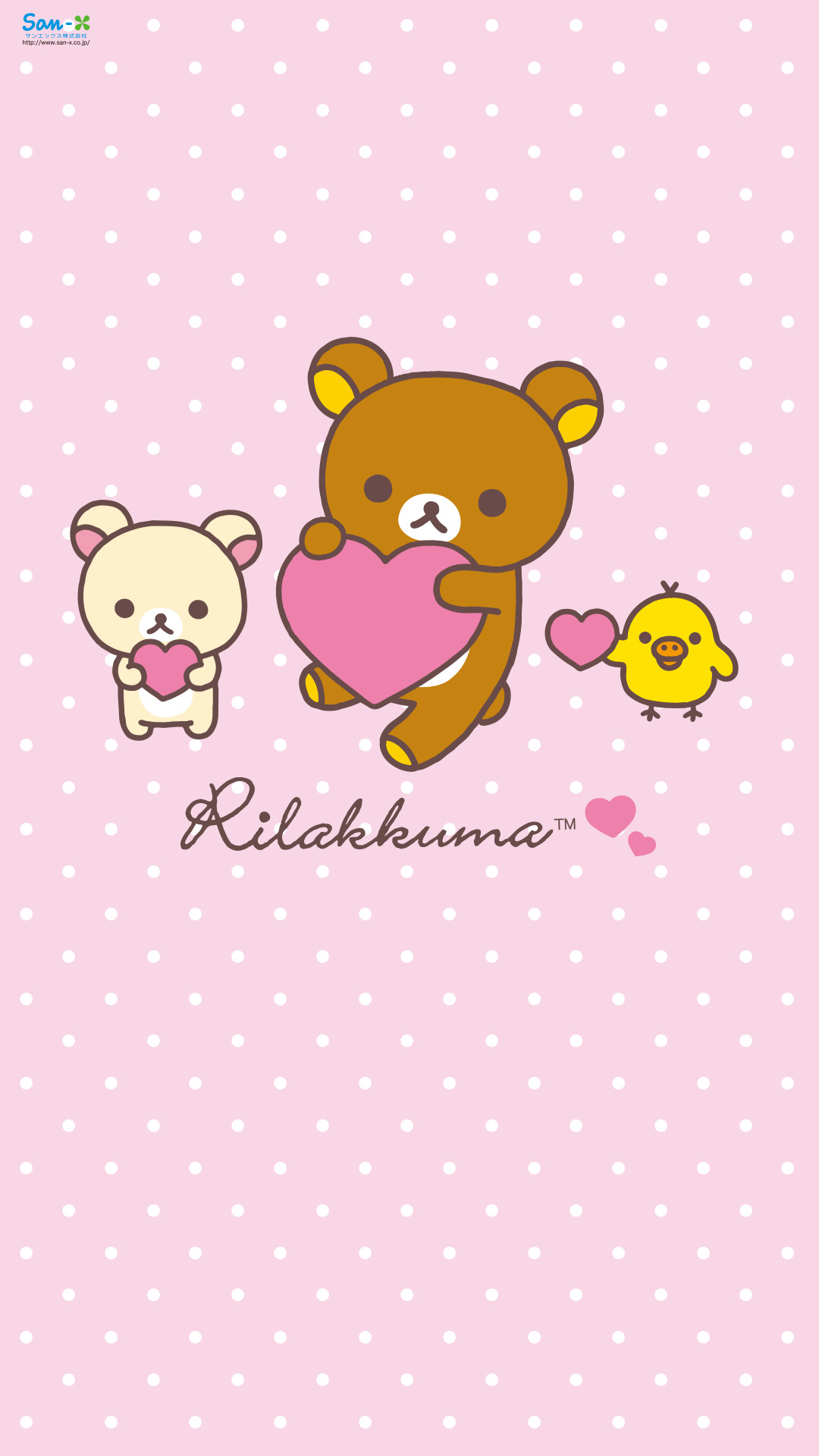 1080x1920 Quickly put small fresh Rilakkuma Wallpaper for your phone now!