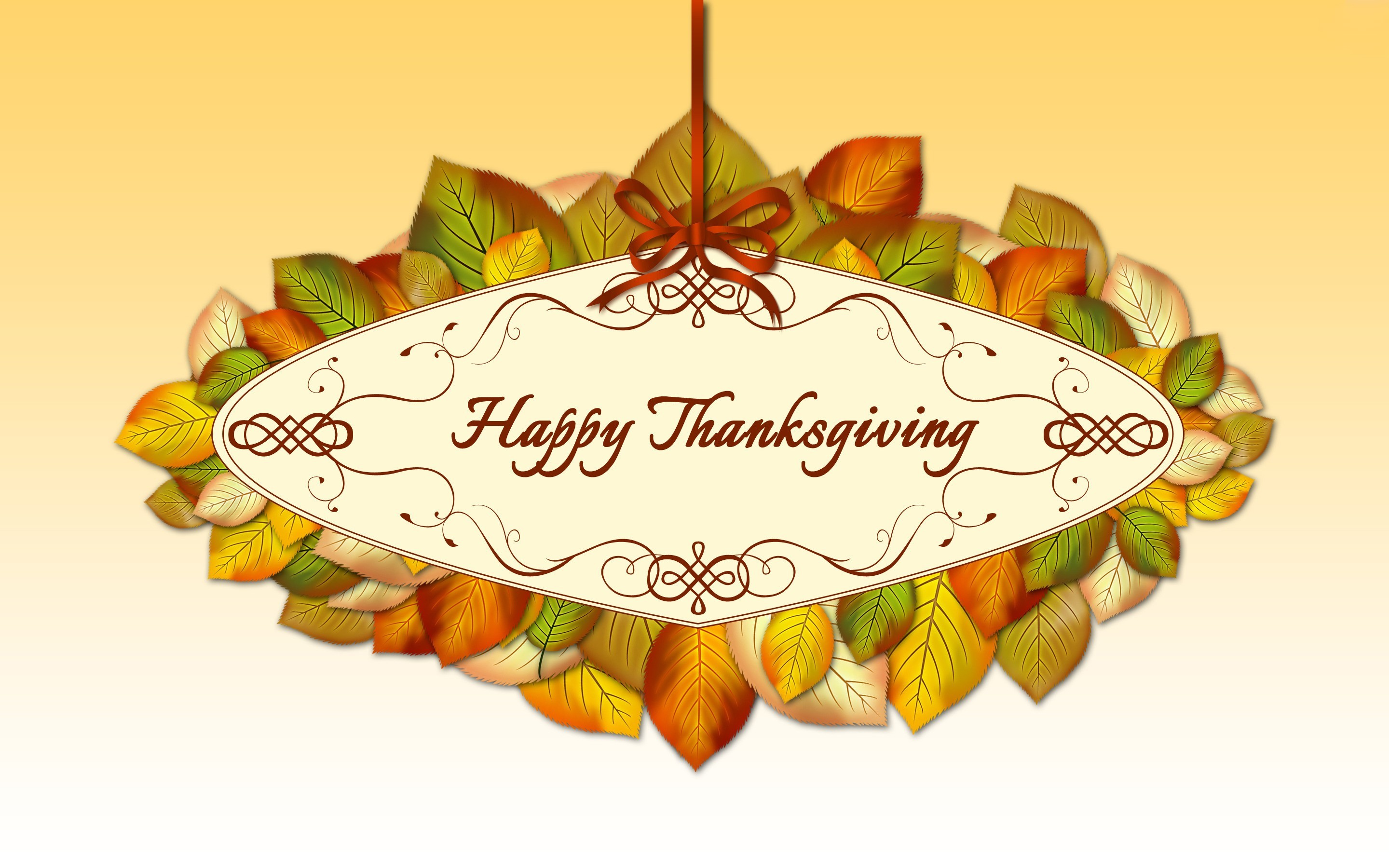 2880x1800 Happy Thanksgiving Holiday desktop wallpaper, Leaf wallpaper, Thanksgiving  wallpaper - Holidays no.
