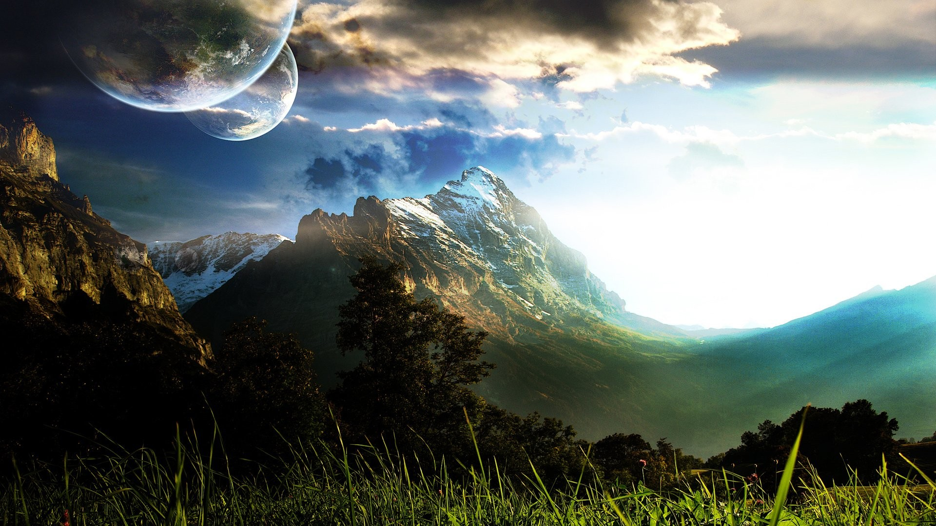 1920x1080 HD Wallpaper | Background ID:83704.  Sci Fi Landscape