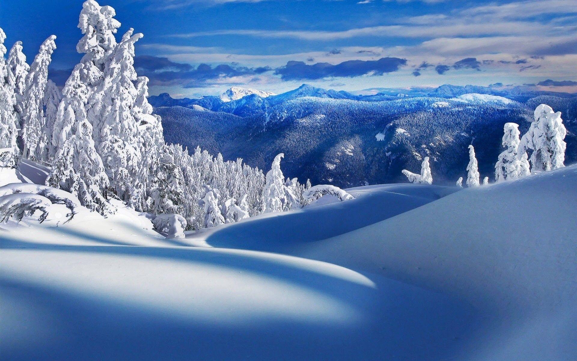 Wallpaper Desktop Winter Scenes (53+ images)