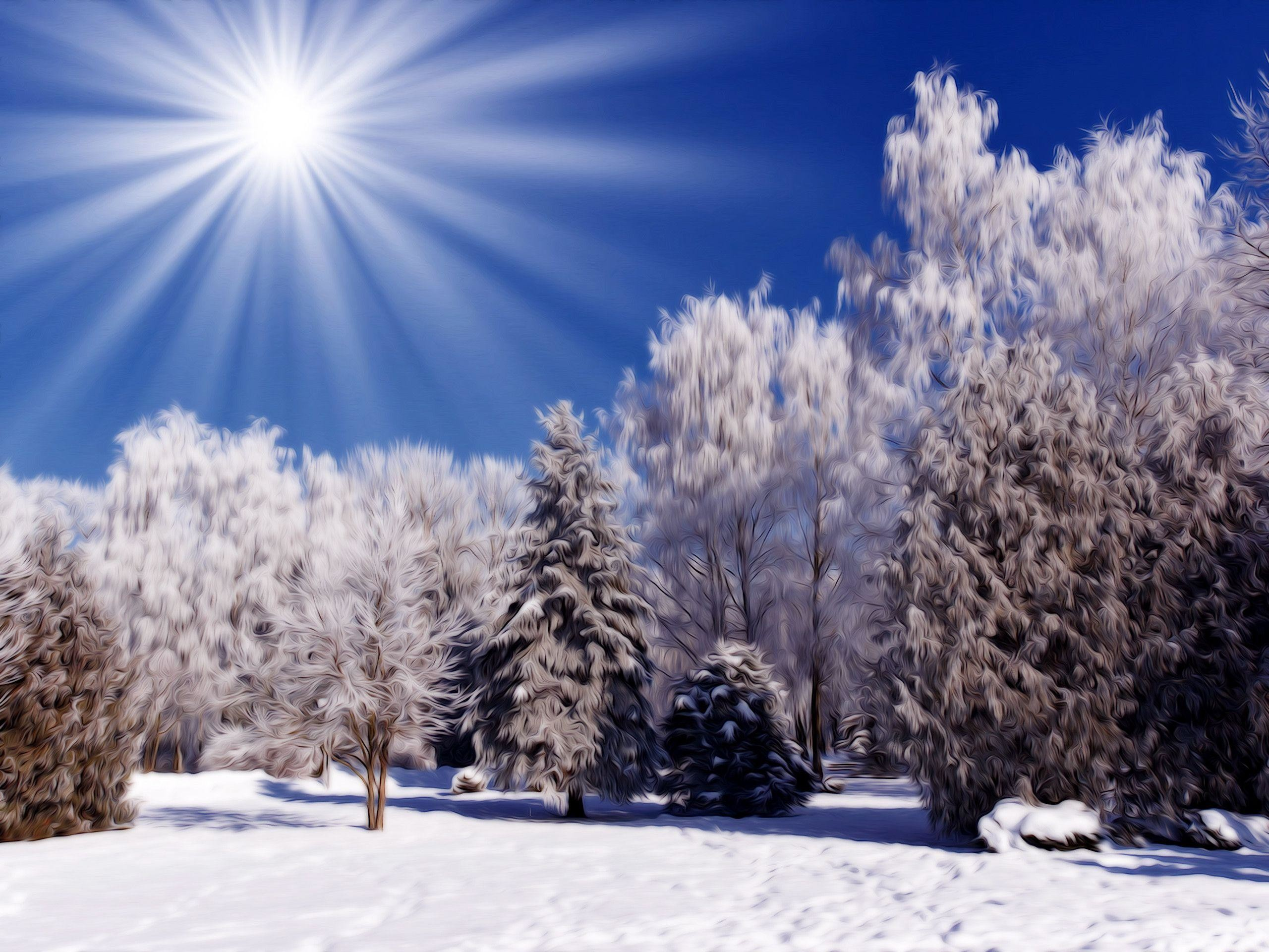 2560x1920 Winter Nature Scenes Wallpapers (69 Wallpapers)