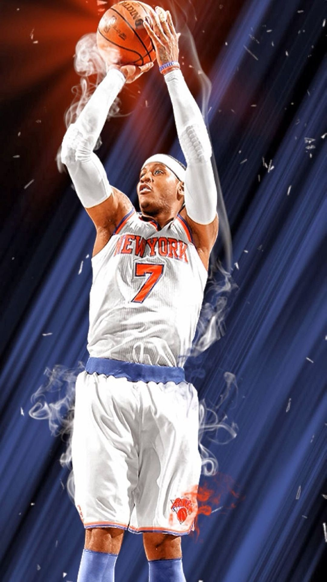 1080x1920 Title : carmelo anthony | daily android wallpapers | pinterest | nba, nba.  Dimension : 1080 x 1920. File Type : JPG/JPEG