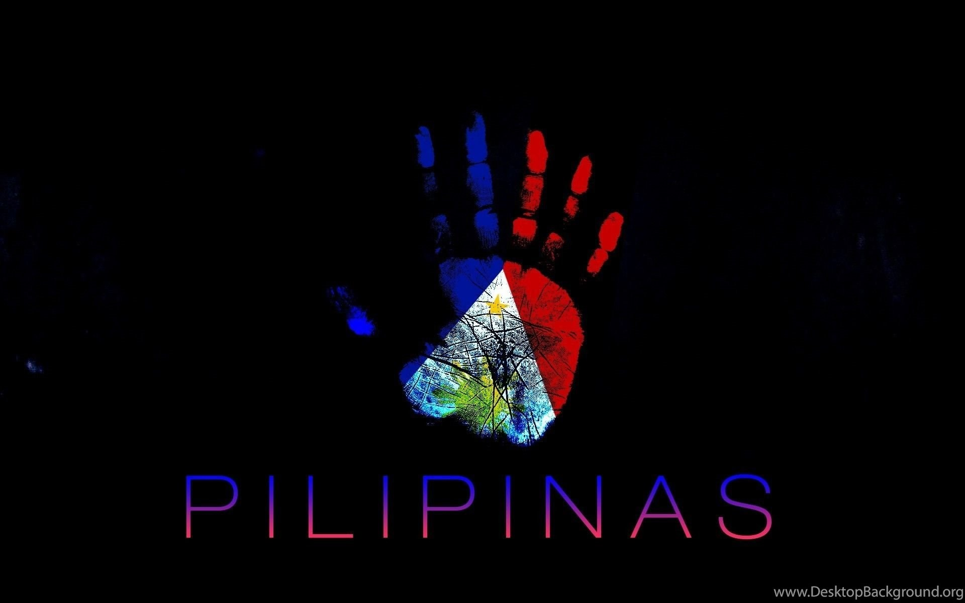 Dndesign Philippines Blue Colored Flags Wallpapers Desktop Background