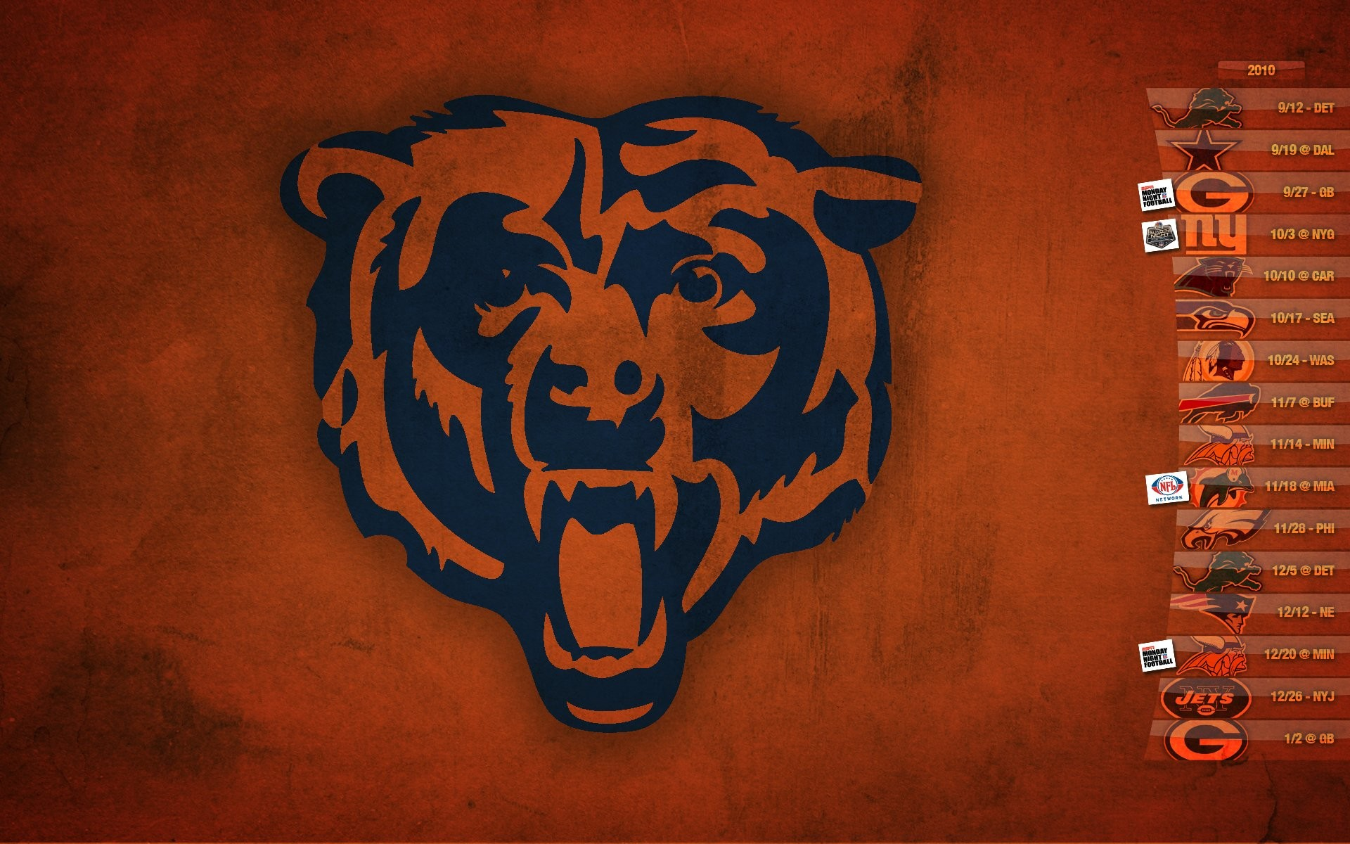 1920x1200 Marvelous Collections to Download Chicago Bears Football 2019 Wallpapers  For Desktop, Laptop and Mobile.