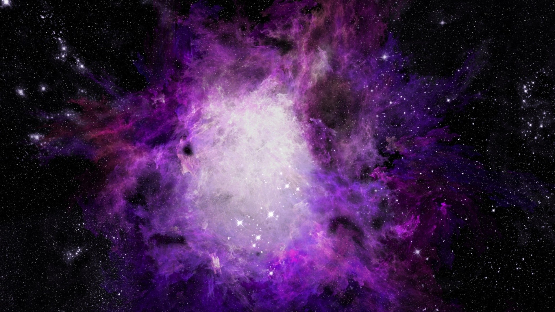 1920x1080 Purple Galaxy Picture For Desktop Wallpaper 1920 x 1080 px 623.08 KB purple  blue 1080p moon