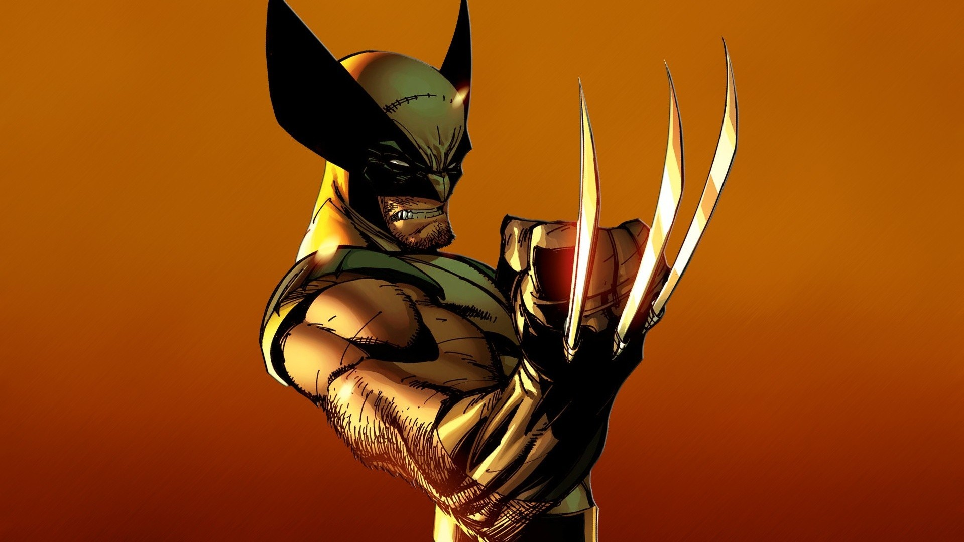 1920x1080 Wolverine Marvel superhero wallpaper