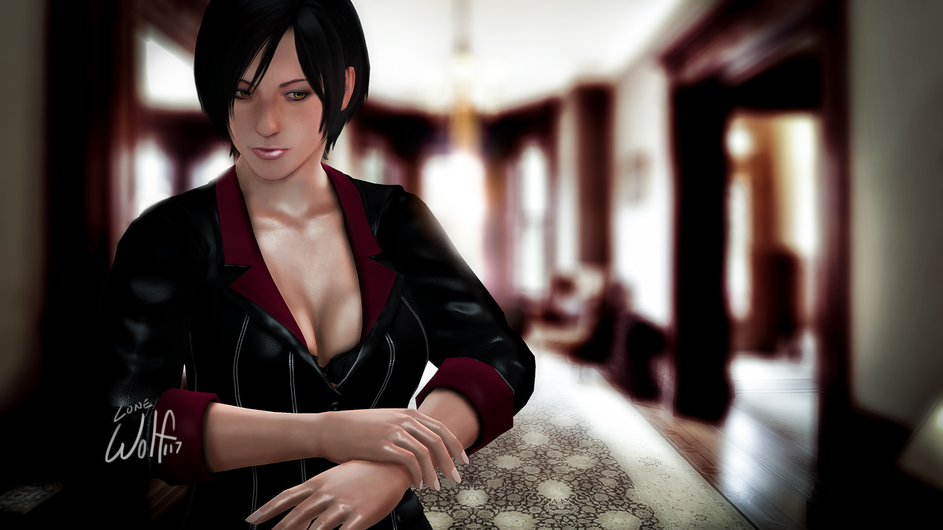 1920x1080 Ada Wong: Damnation by LoneWolf117 Ada Wong: Damnation by LoneWolf117
