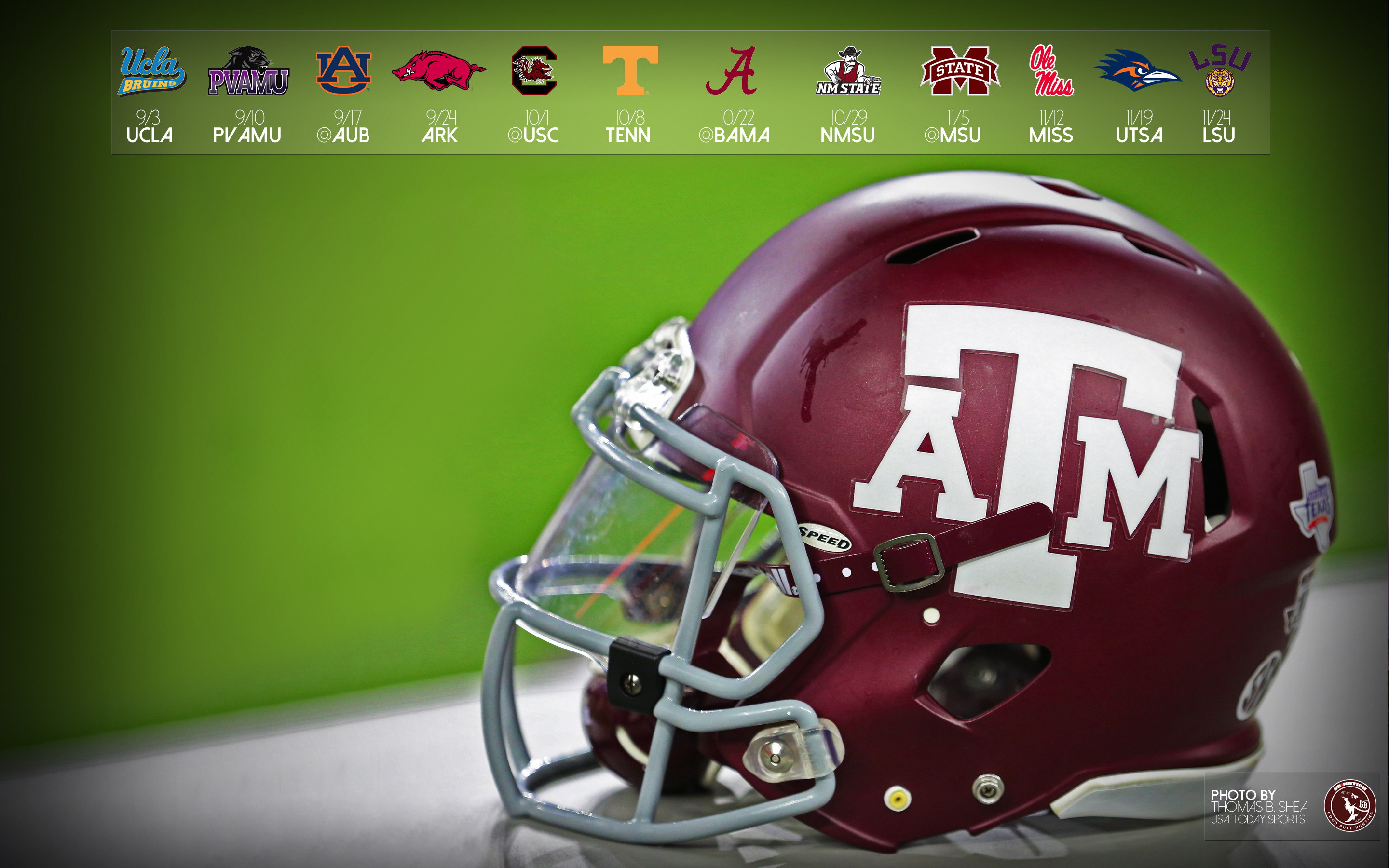 2880x1800 2016 Aggie Football Wallpapers