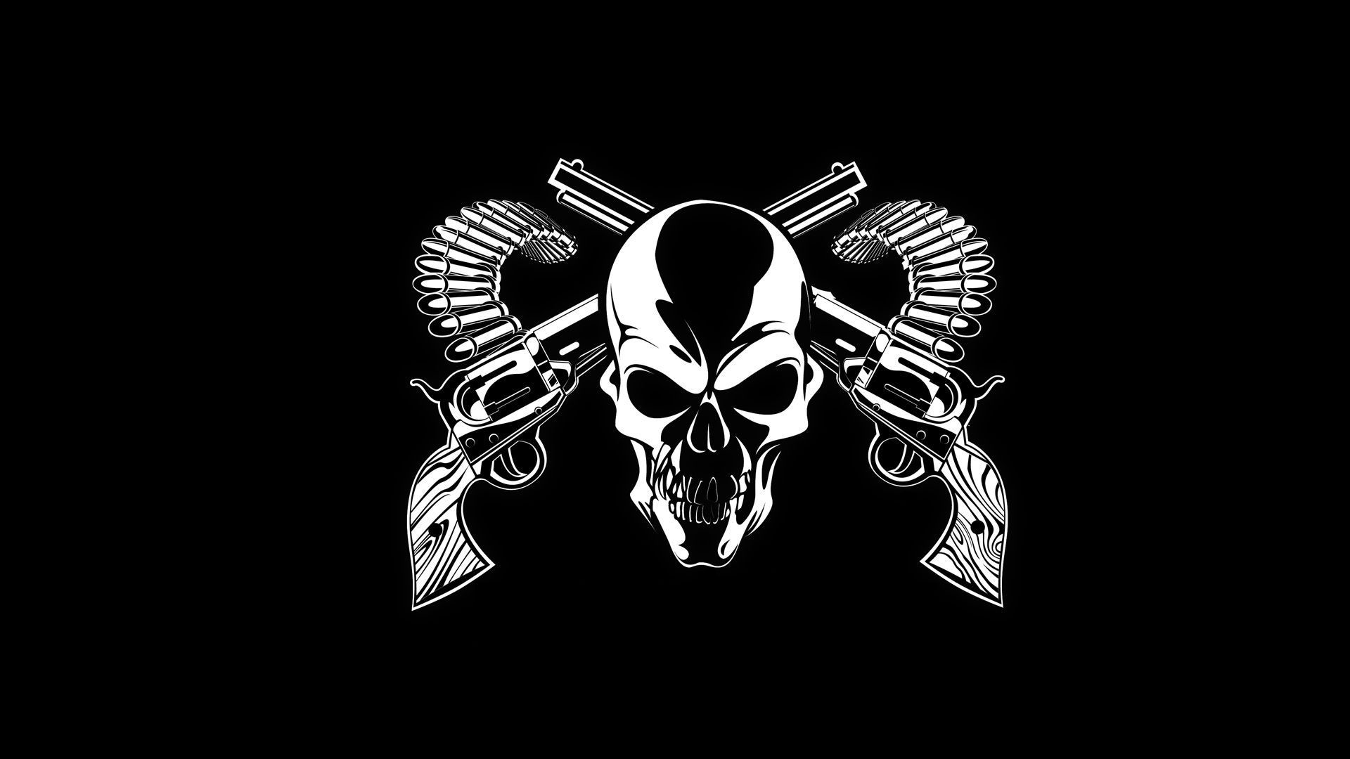 1920x1080 Skull Wallpapers Free Download - HD Wallpapers , Picture ,Background  ,Photos ,Image - Free HQ Wallpaper - HD Wallpaper PC | Pinterest | Skull  wallpaper, ...