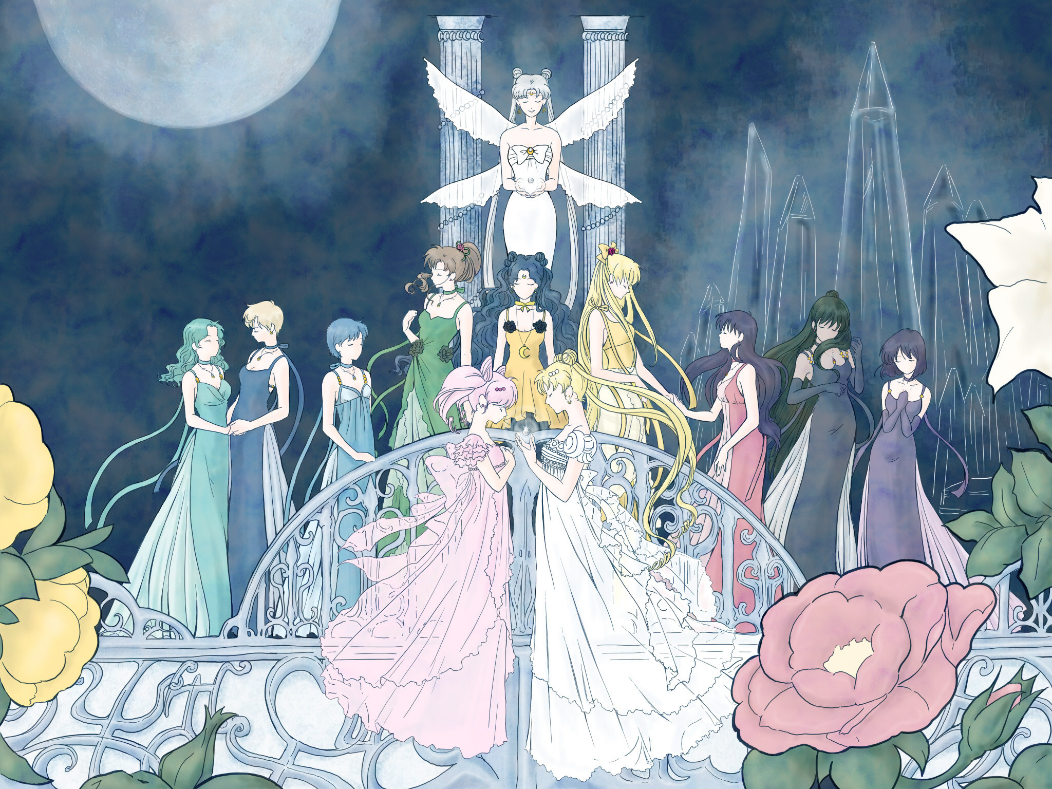 Anime Moon Princess Wallpapers 71 Images