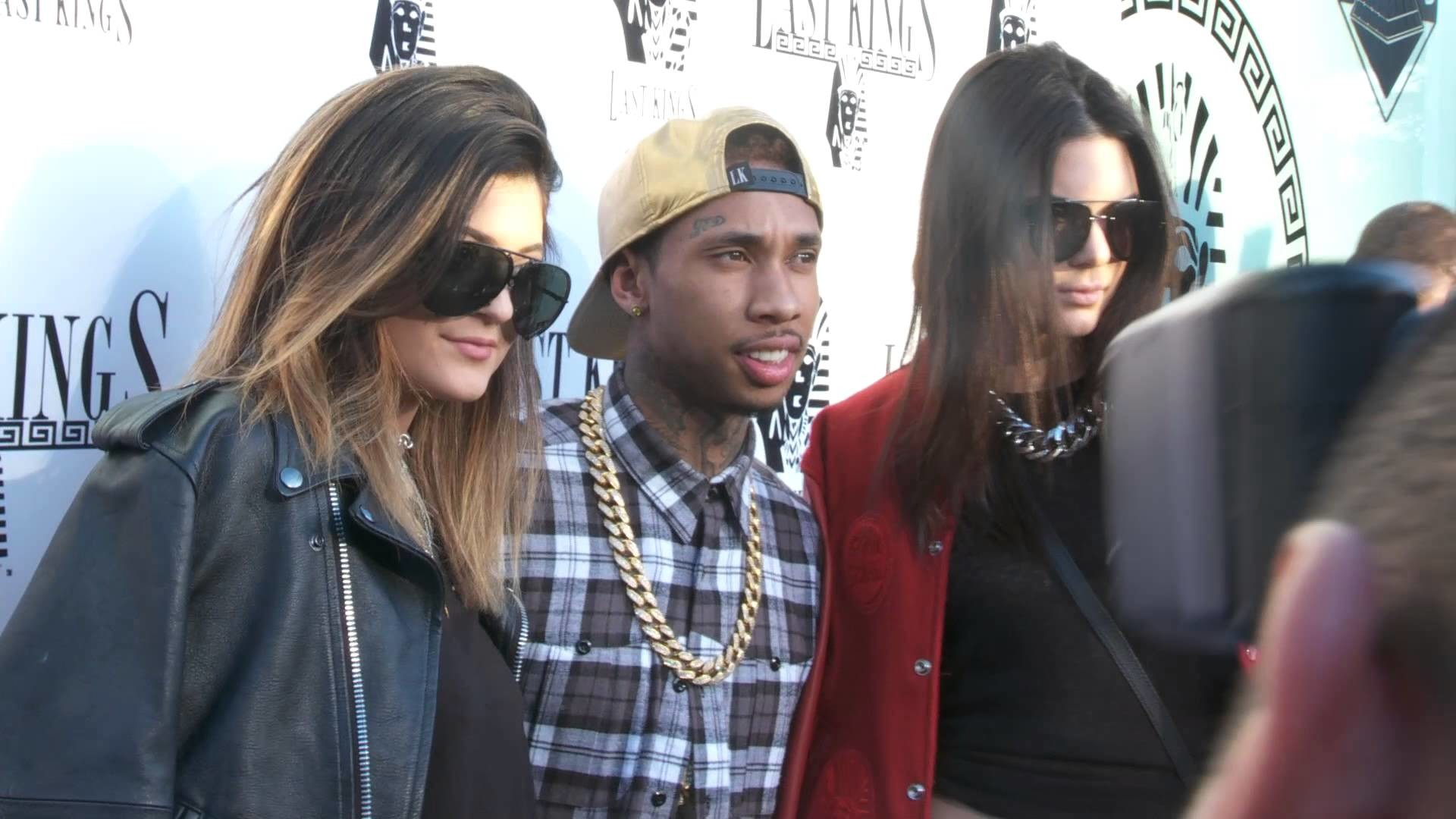 1920x1080 Coool Flame TV LA: Tyga opens new store 'Last Kings' on Melrose Blvd