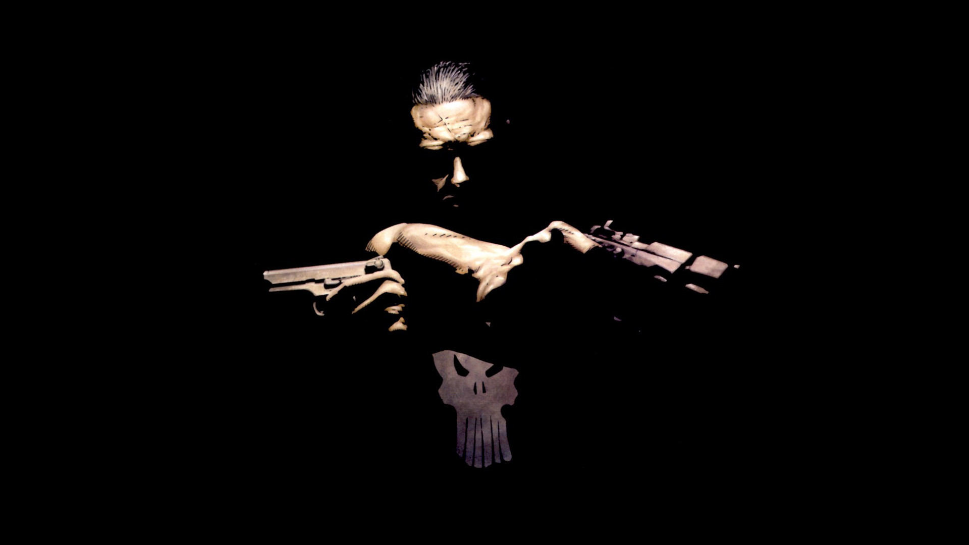 1920x1080 The Punisher Wallpaper  The, Punisher, Marvel, Comics