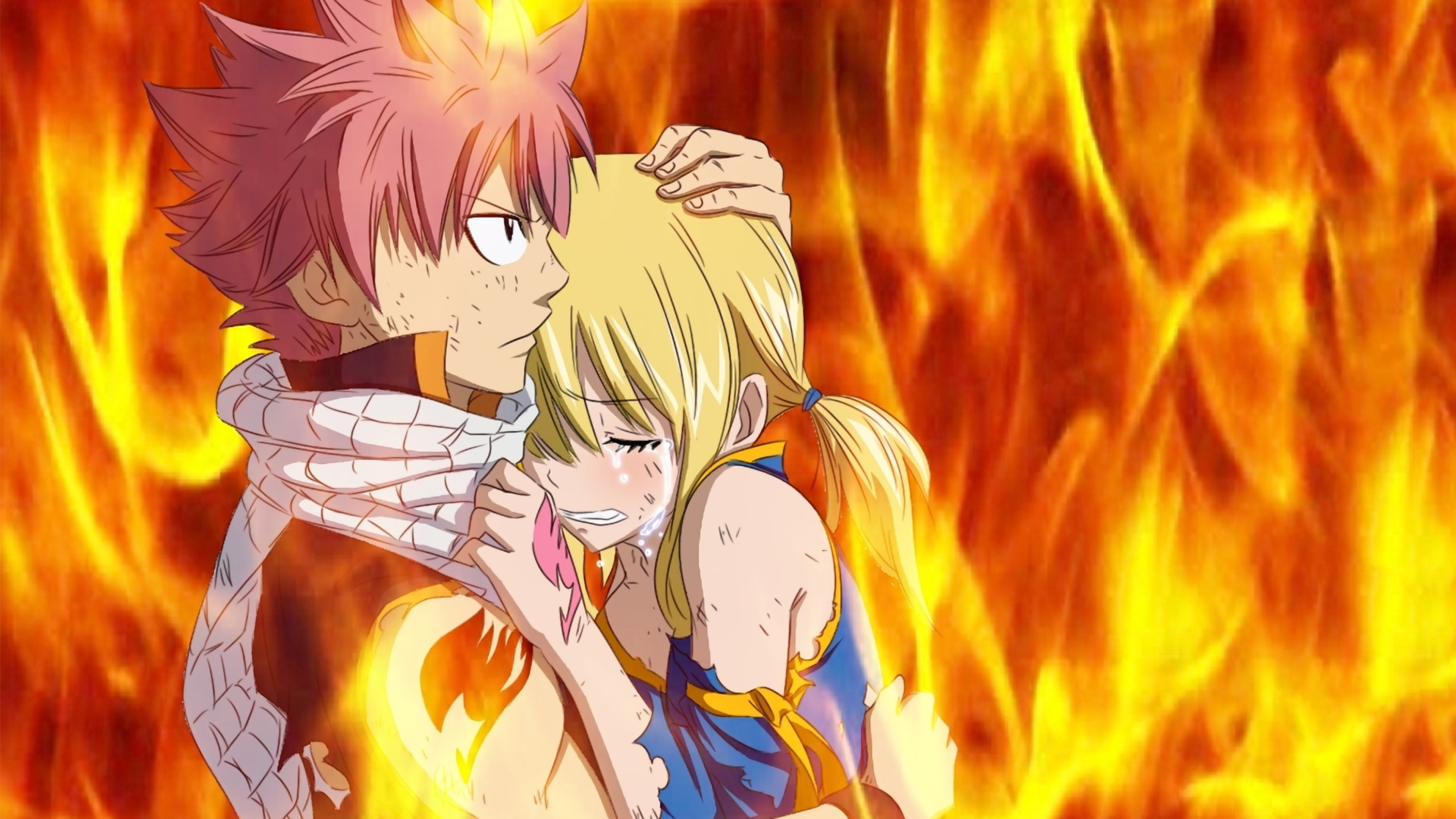 1920x1080 Fairy Tail Natsu Erza Lucy And Gray HD Anime Wallpaper 1280A 720