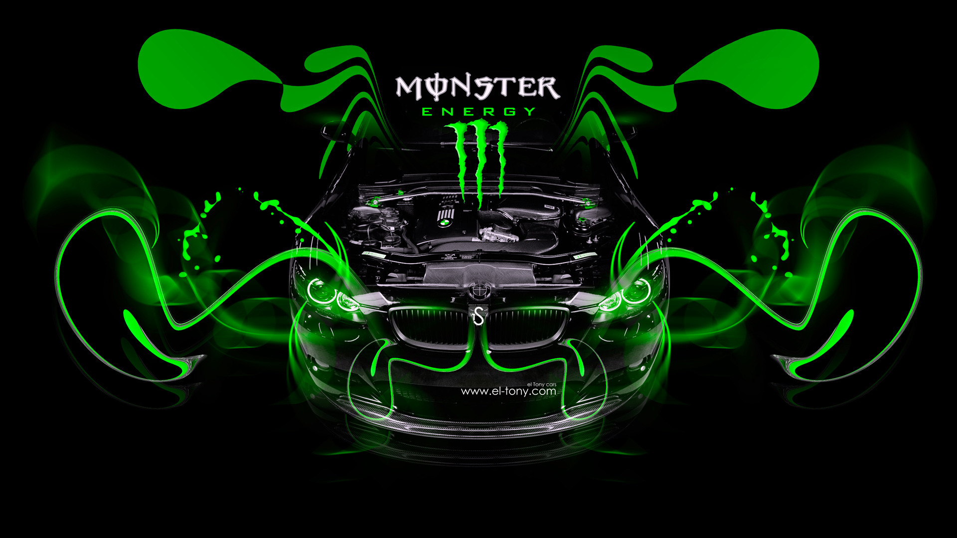 Great 1920x1200 ... Monster | Monster Energy Wallpaper By Sankari69 On DeviantART  .
