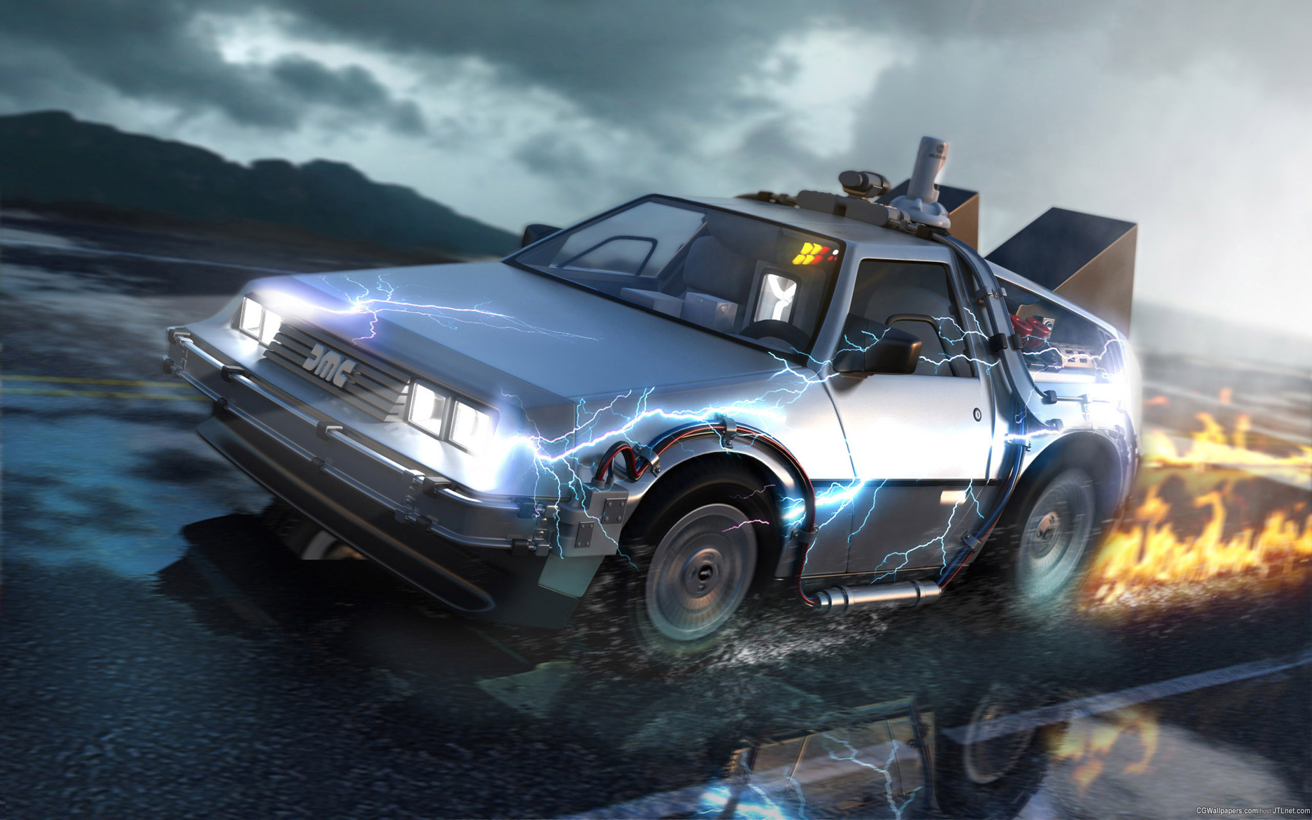 2560x1600 ... Back to the Future HD Wallpaper