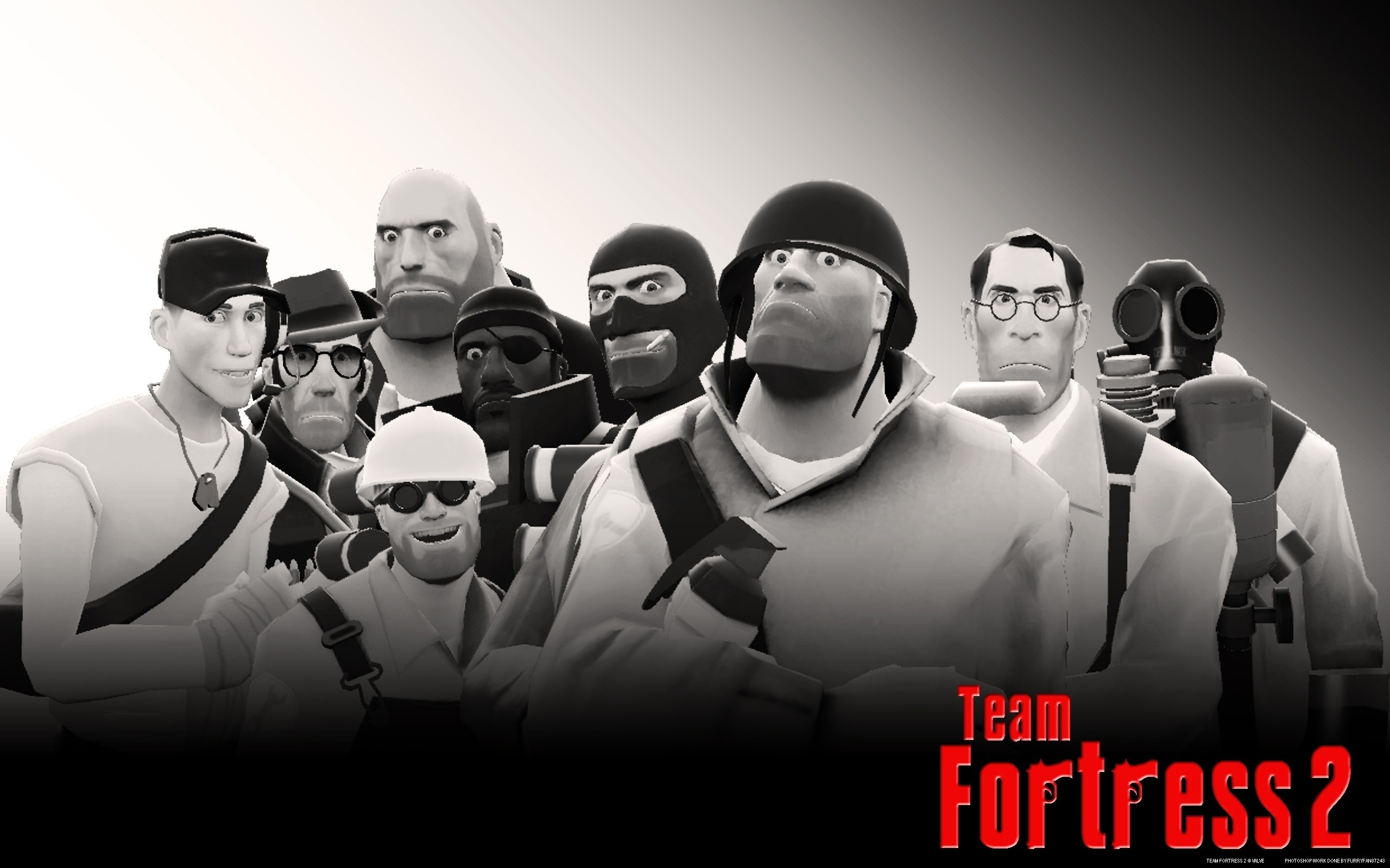 2560x1600 Demoman tf2 team fortress 2 sniper medic heavy scout spy wallpaper