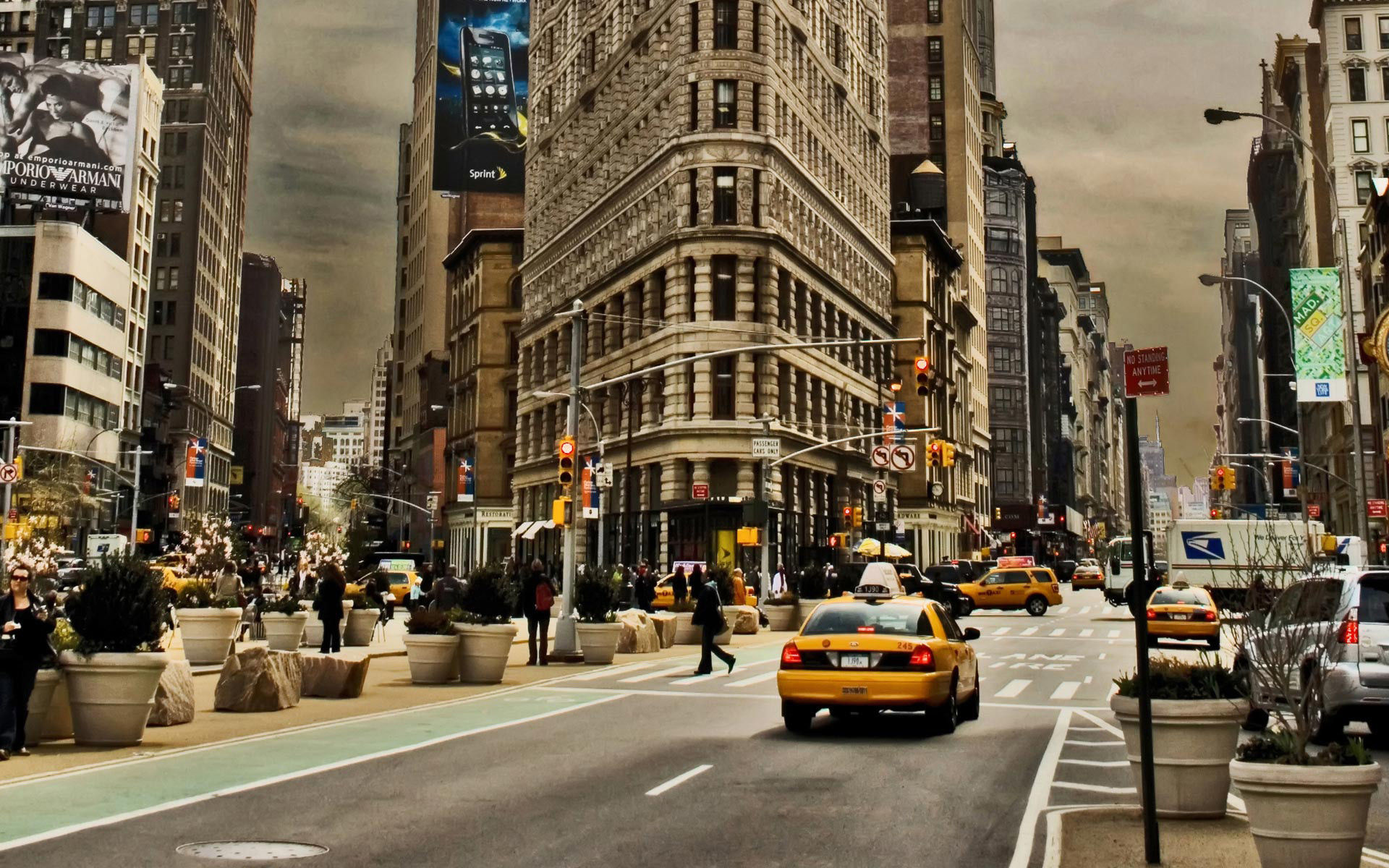 1920x1200 New York City Street Wallpapers 12