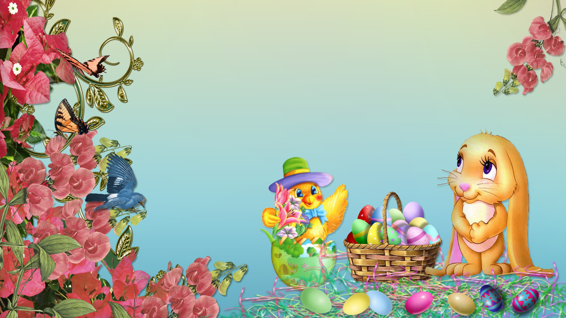 1920x1080 Best Easter Wallpapers HD