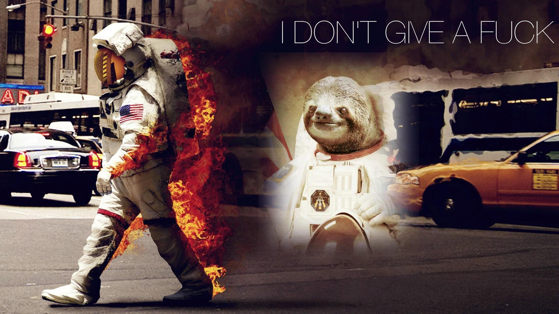 1920x1080 [Image - 437694] | Astronaut Sloth | Know Your Meme