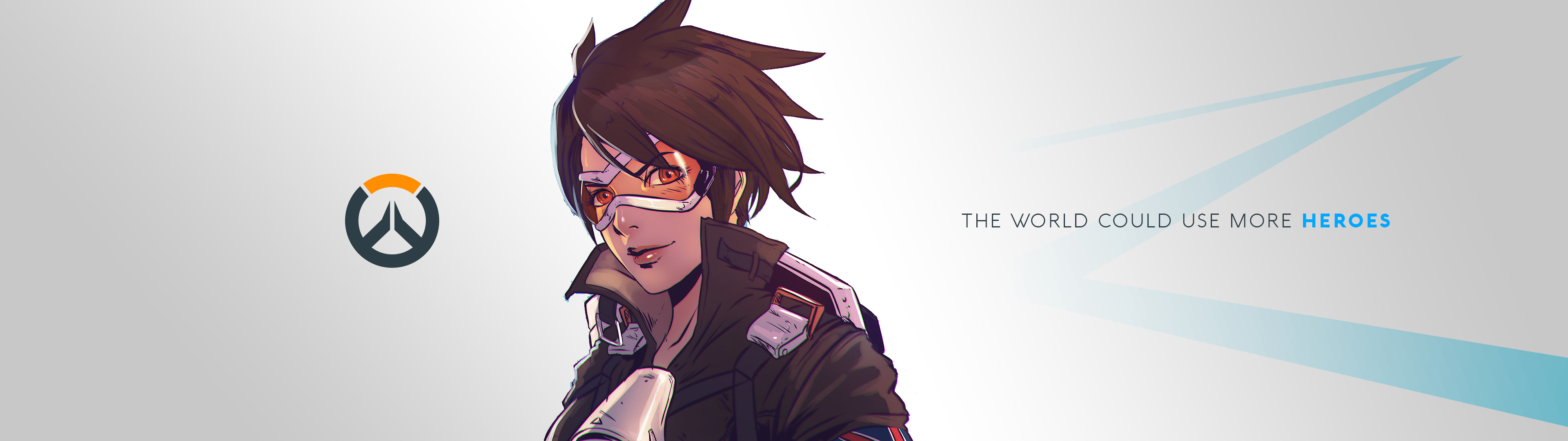 3840x1080 Video Game - Overwatch Tracer (Overwatch) Bakgrund