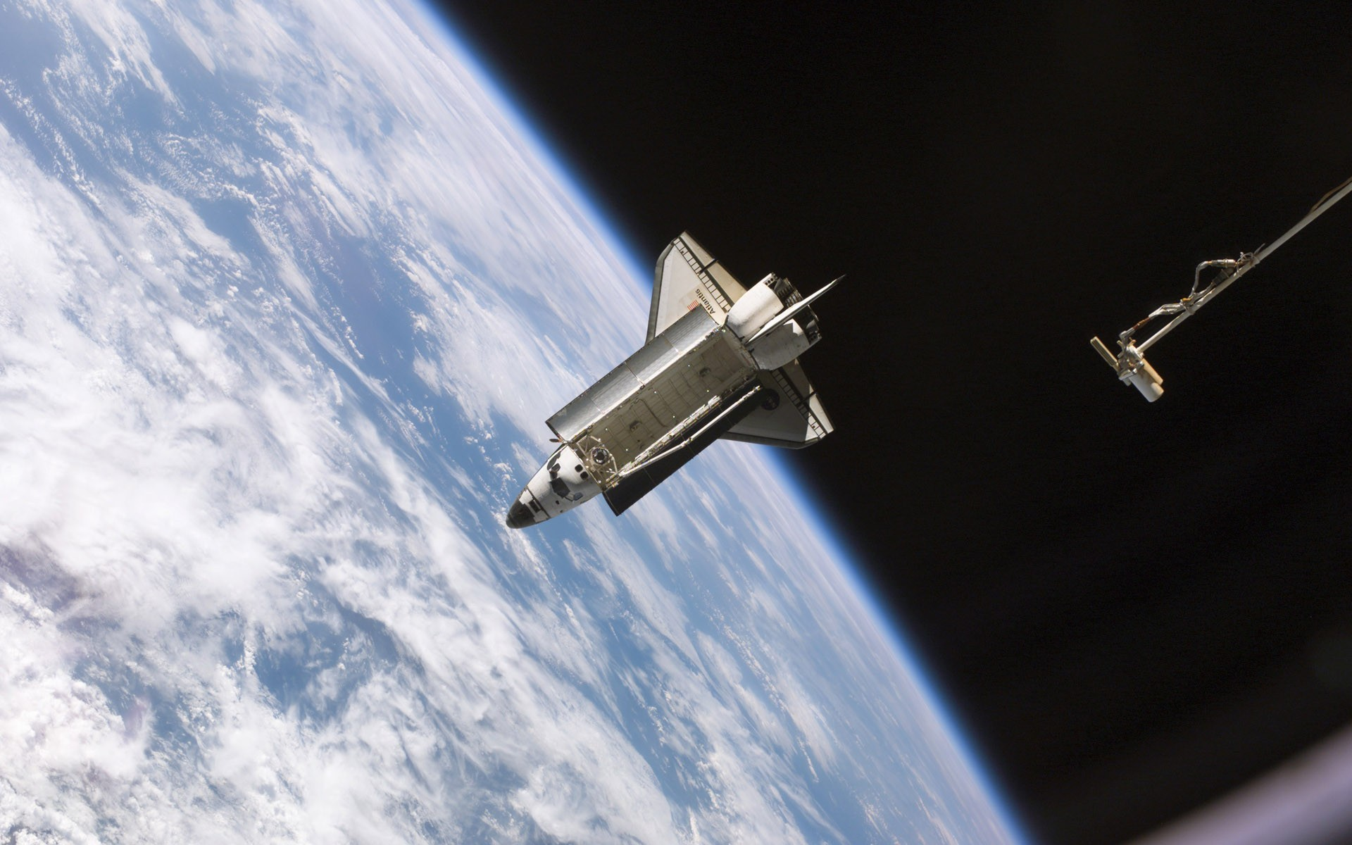 1920x1200 Pictures Space shuttle Atlantis, Nasa Ships