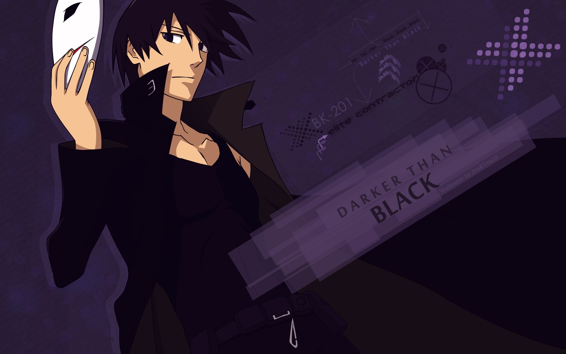 1920x1200 Anime - Darker Than Black Wallpaper