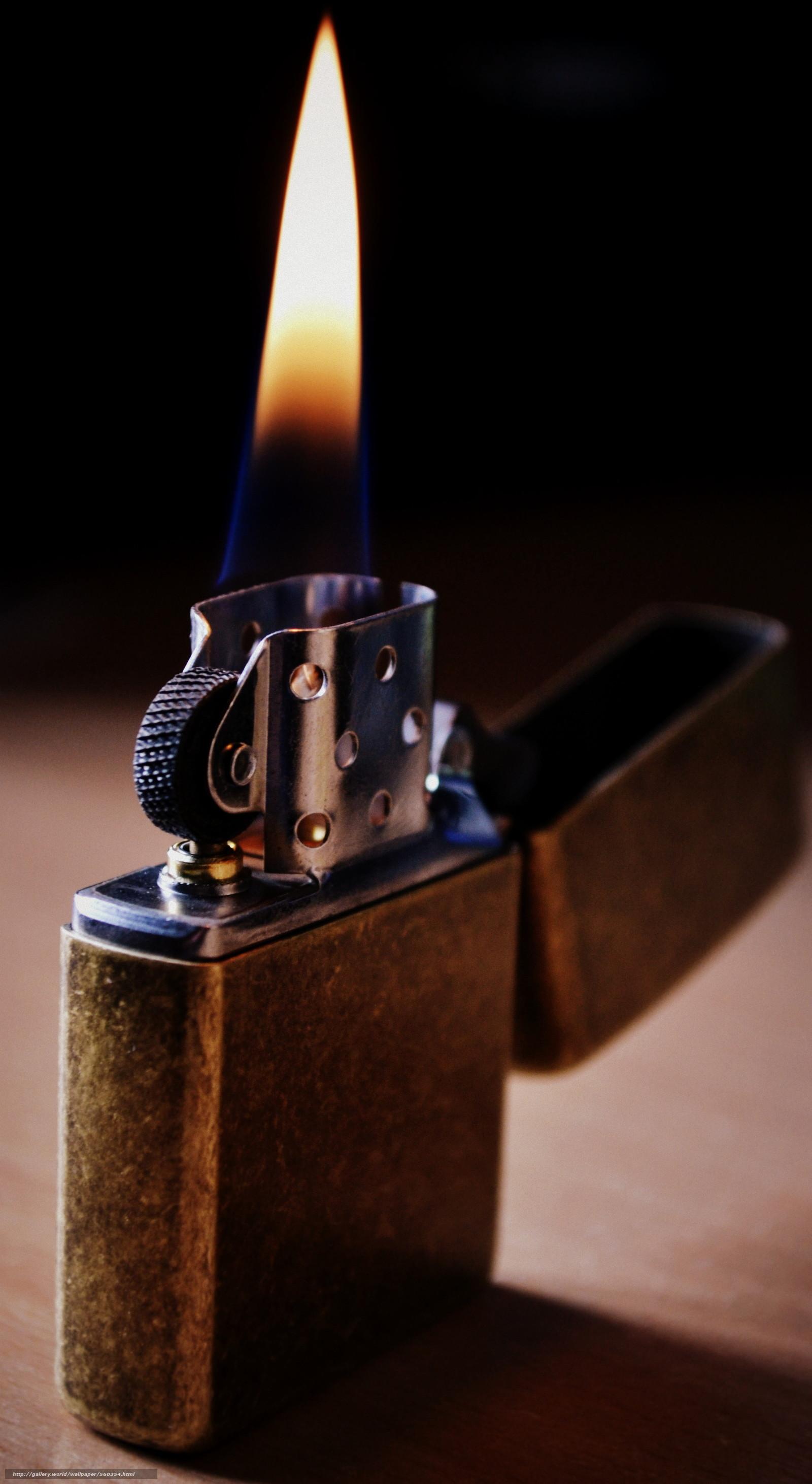 1440x2560 Wallpaper Lighter Metal Fire Flame