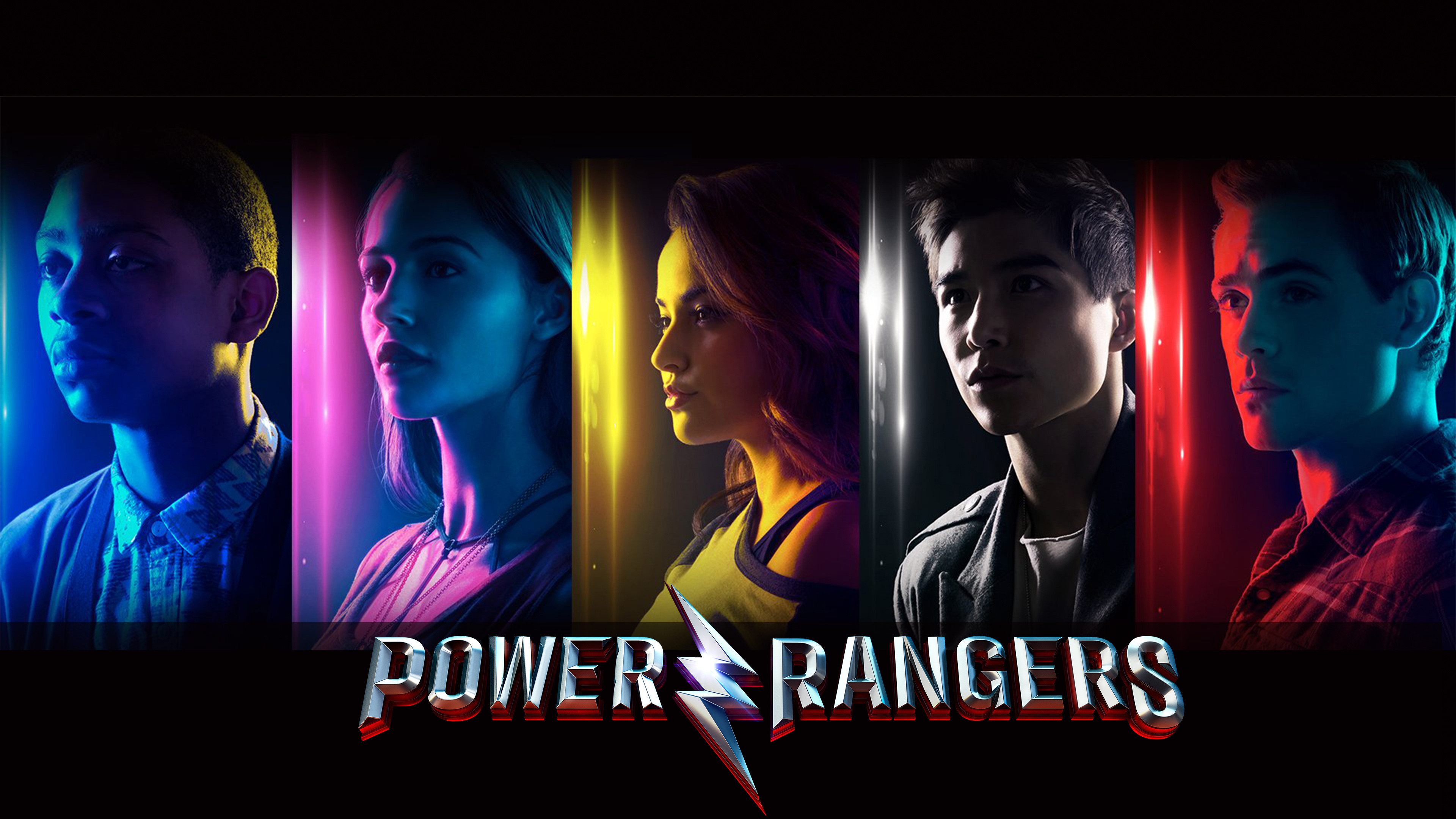 3840x2160 Power Rangers Movie 4K 2017