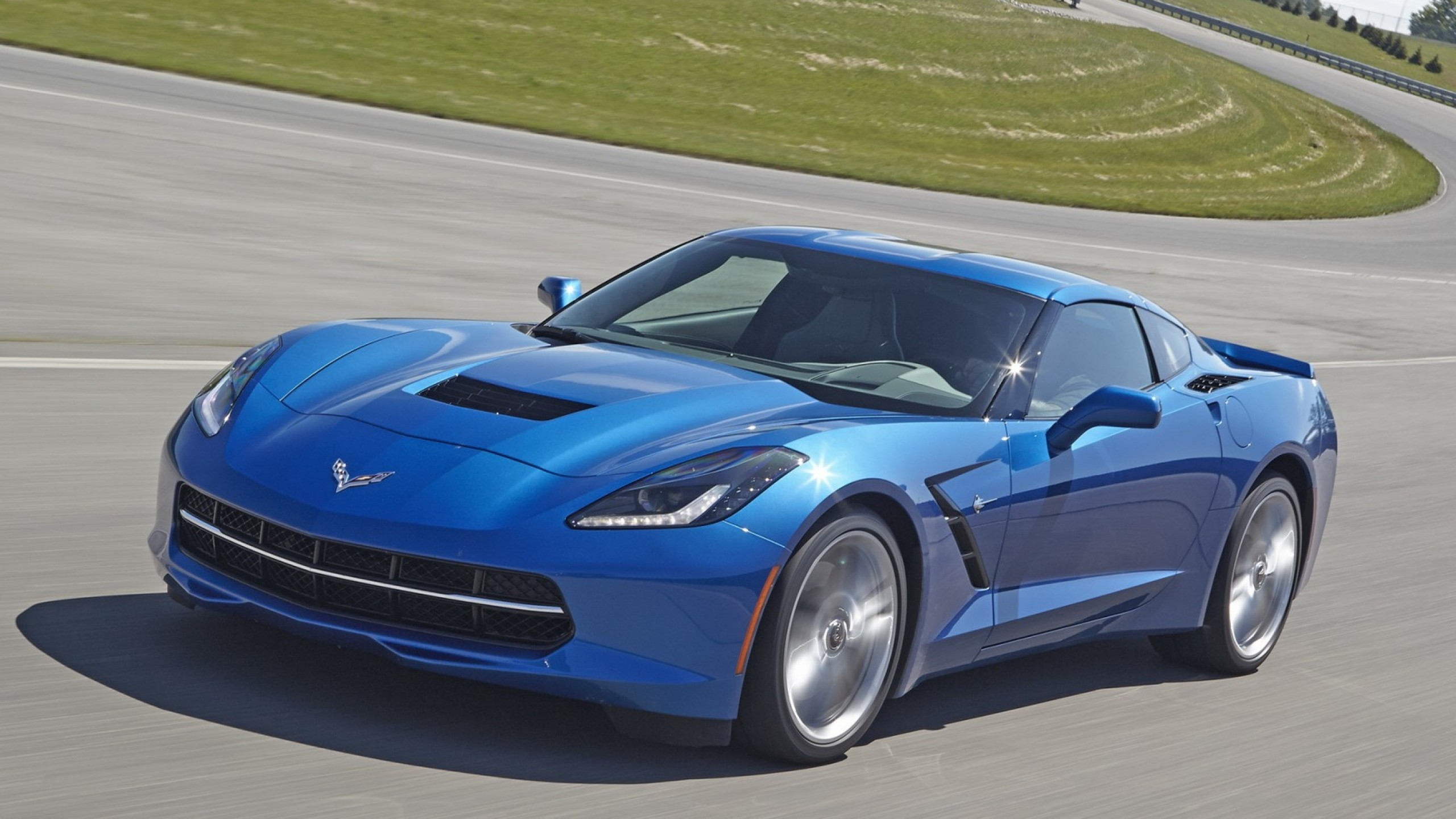 2560x1440  Wallpaper chevrolet, corvette, stingray, c7