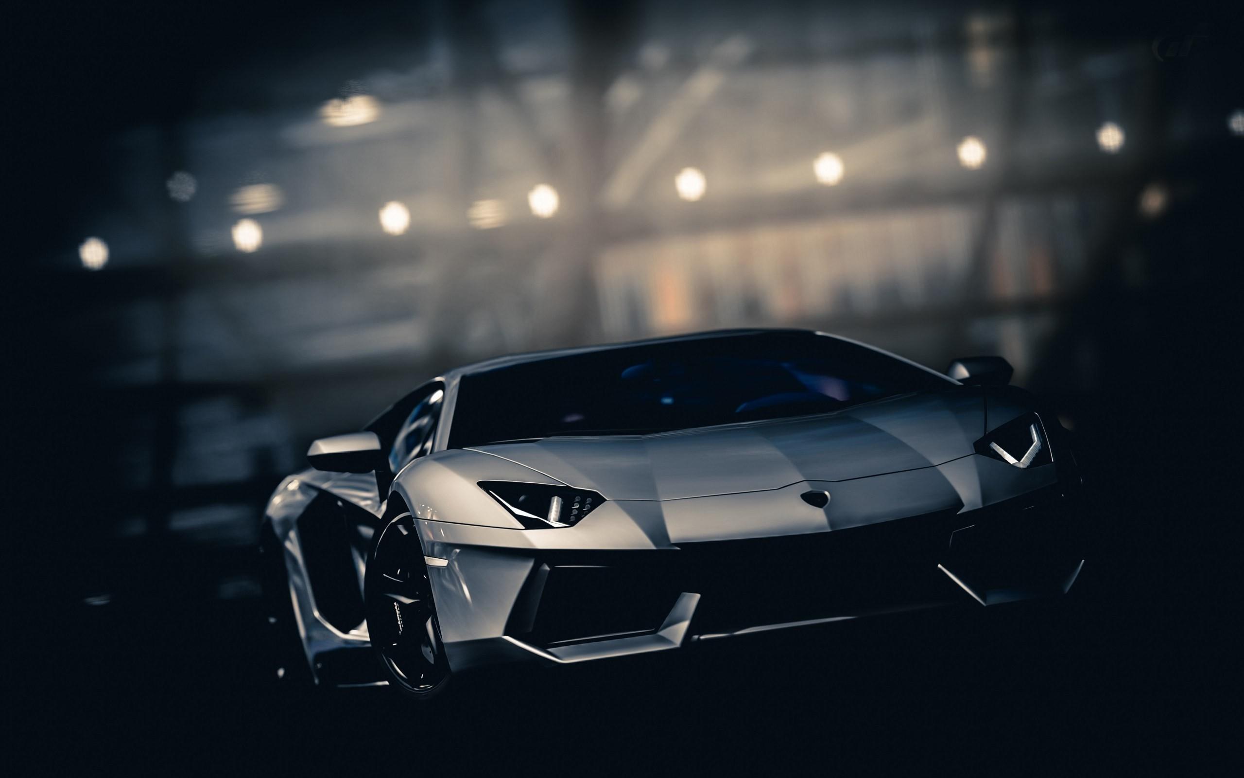 Black Lamborghini Car Hd Wallpaper