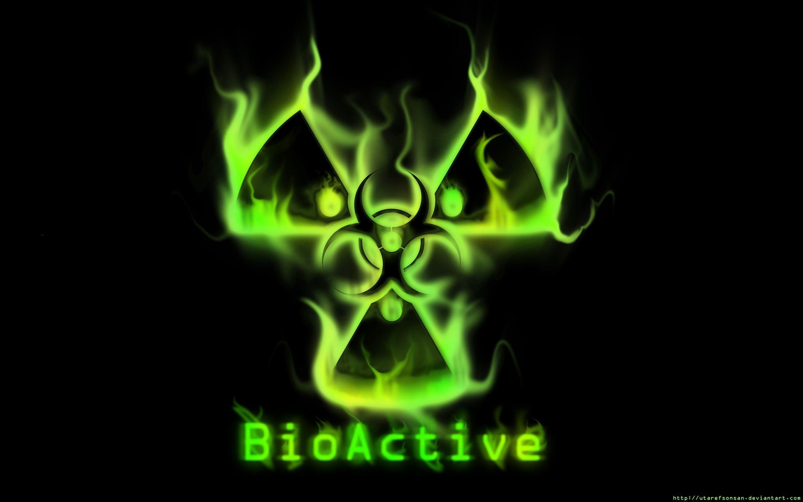 biohazard symbol wallpaper (61+ images)