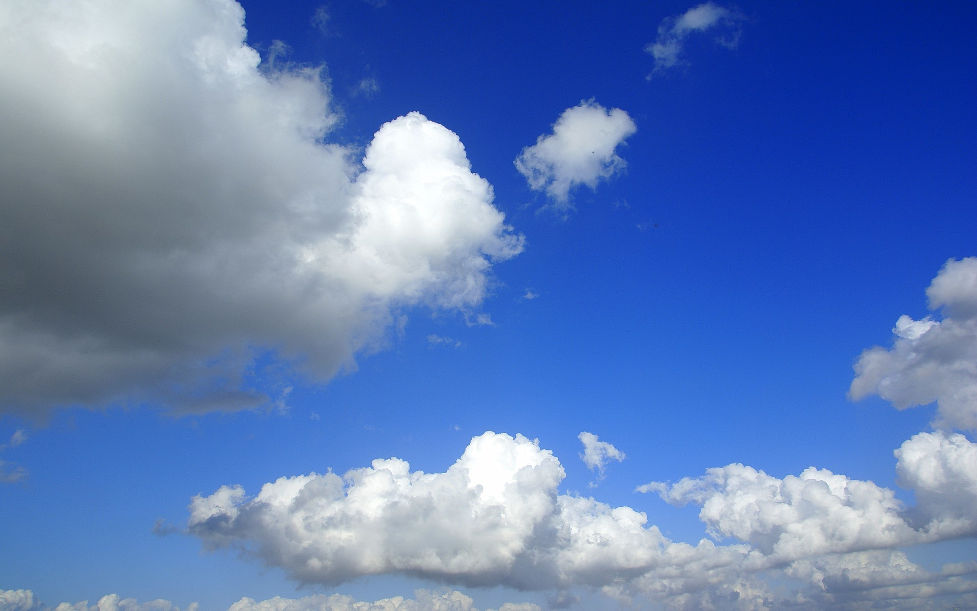 Blue Sky With Clouds Wallpaper (56+ Images