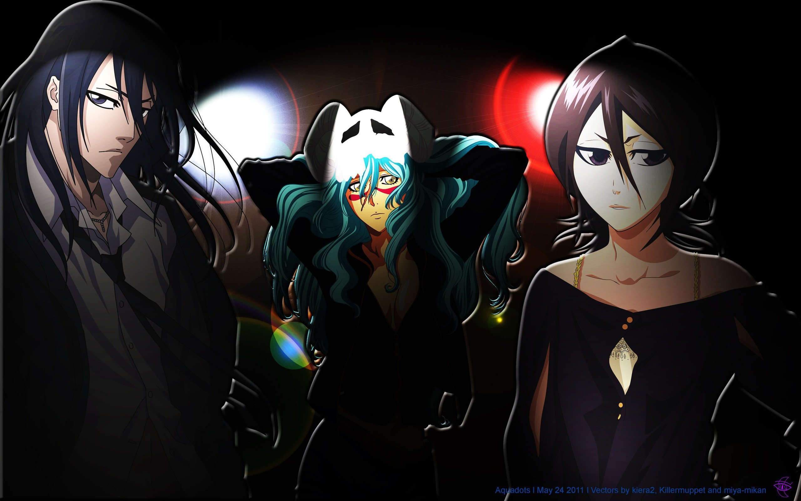 2560x1600 by: Aquadots (Animepaper) (18 High-Quality Bleach Anime Wallpapers)