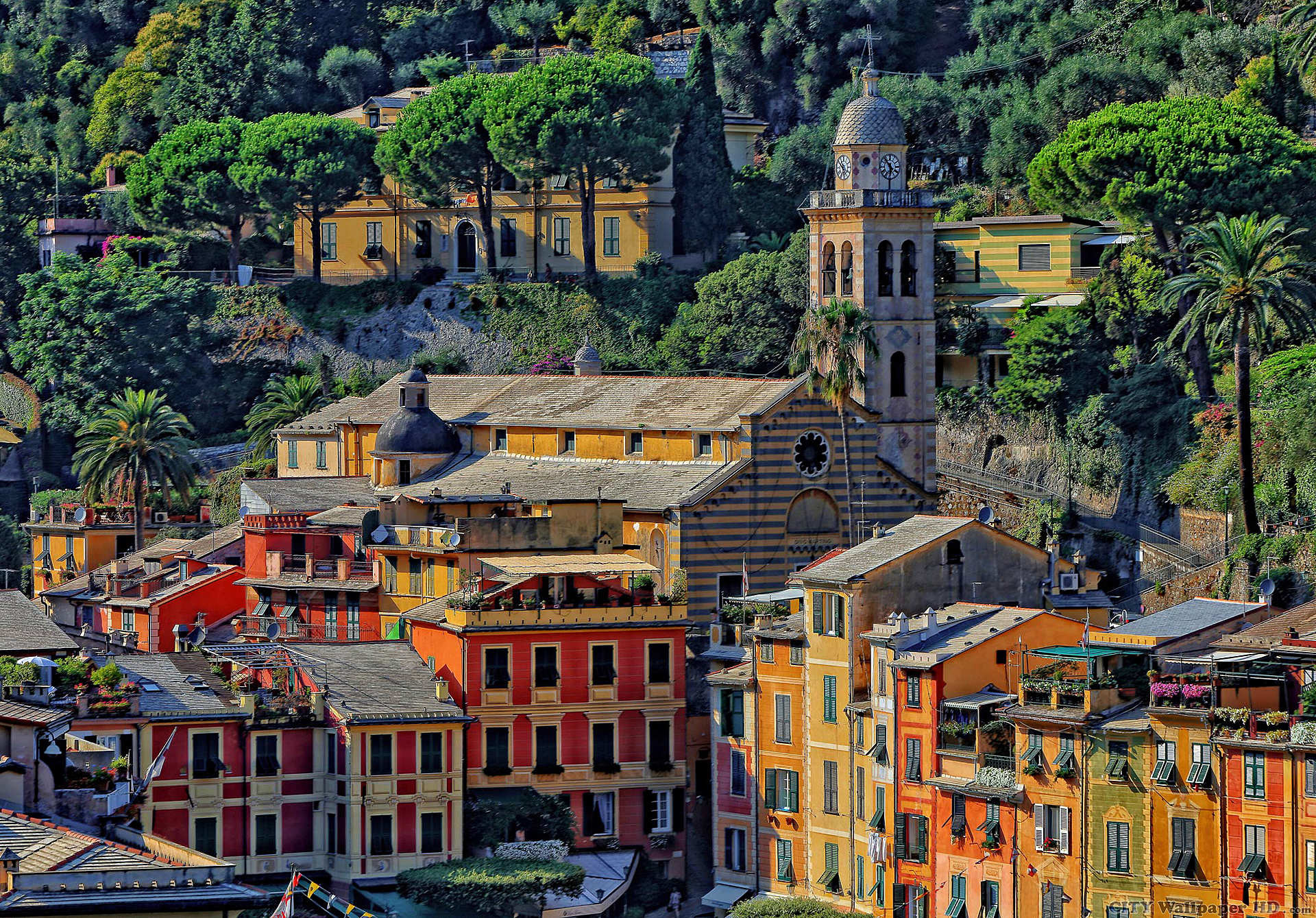 1920x1339 Portofino Italy wallpaper. Download