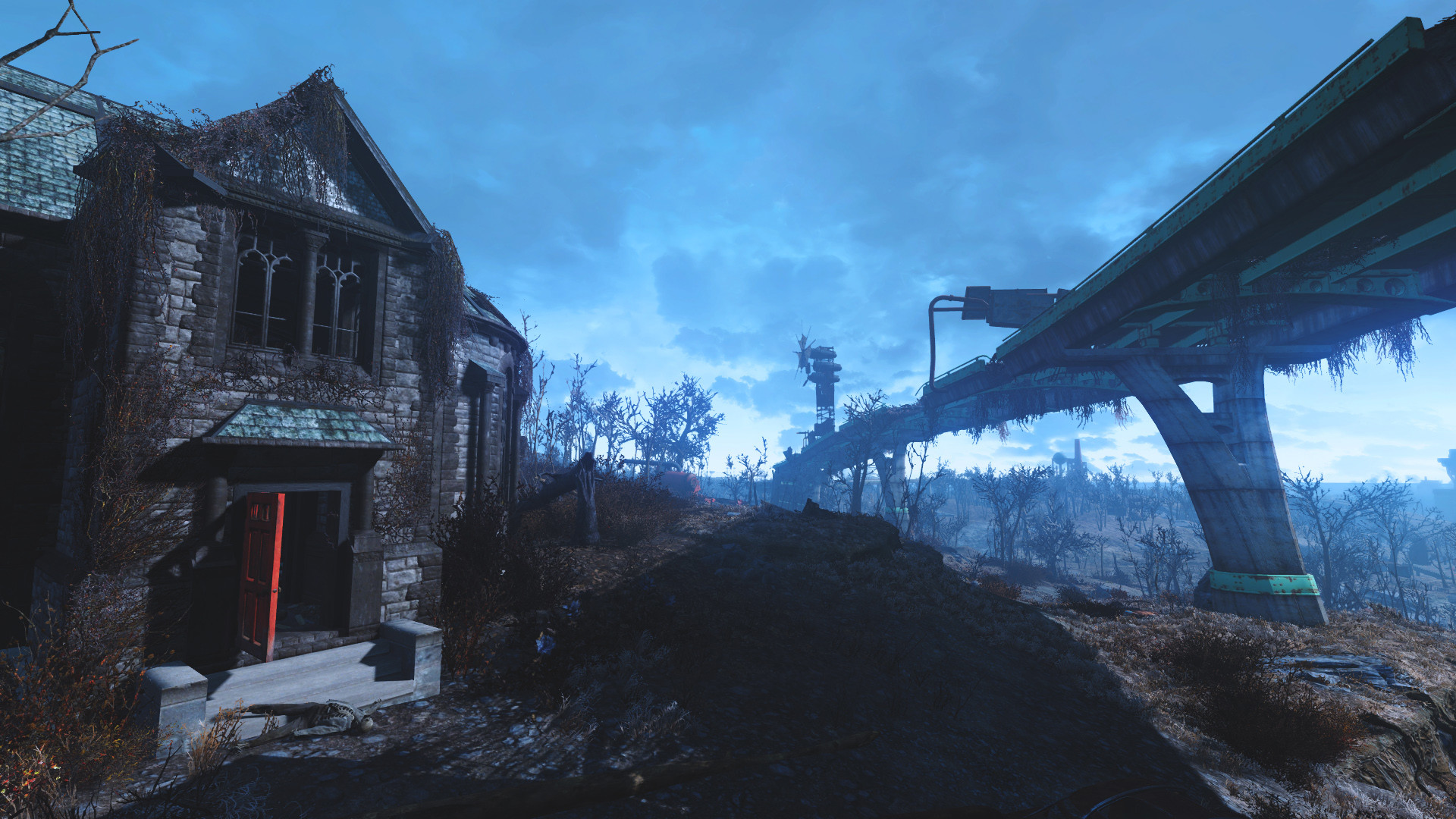 1920x1080 View Larger Image Fallout 4 HD Wallpaper Creepy House