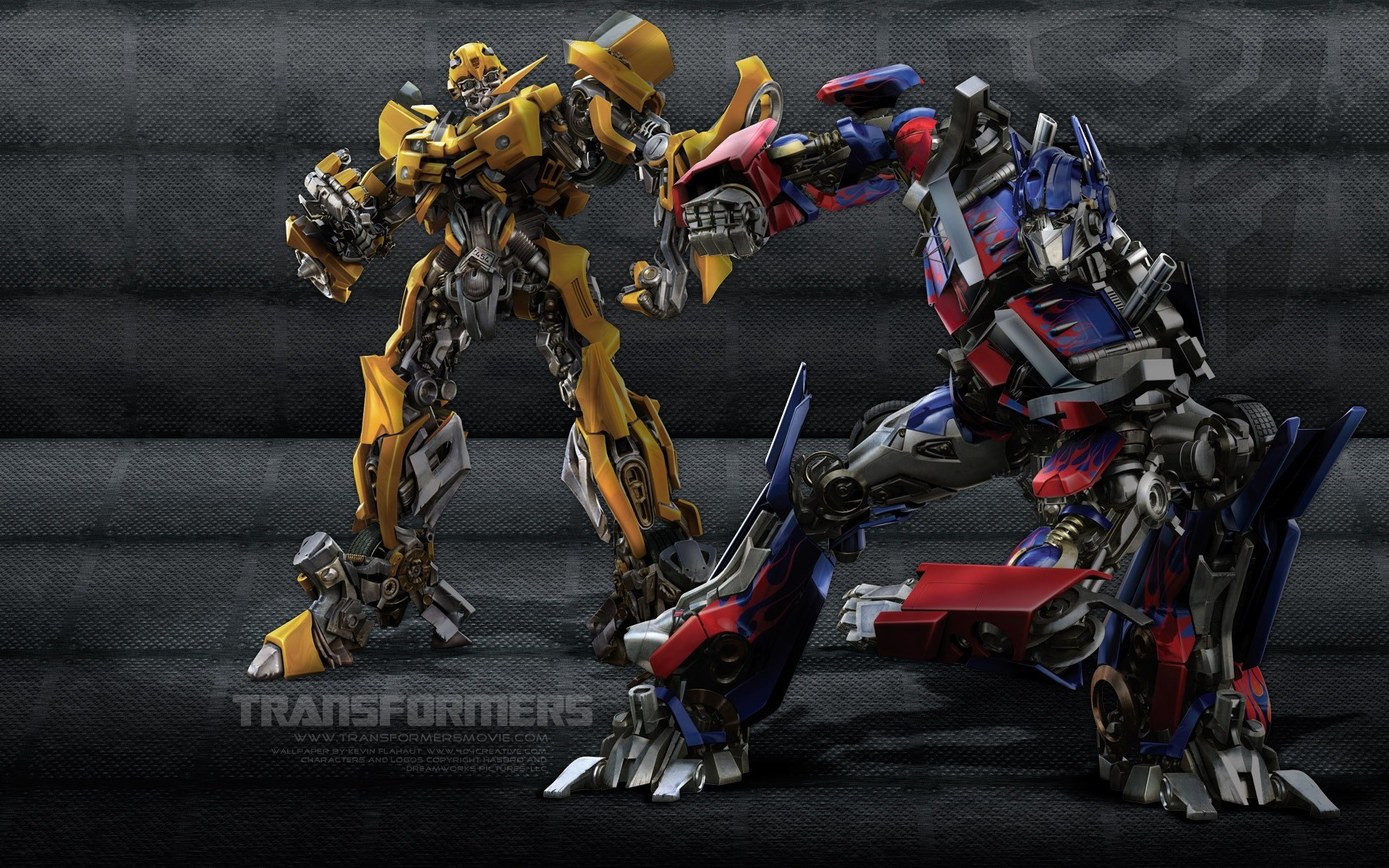 1920x1200 Bumblebee Optimus Wallpaper Transformers Movies Wallpapers