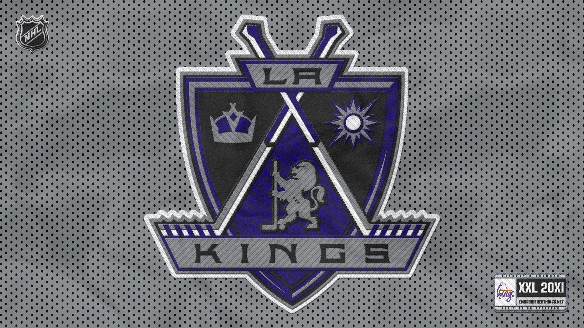 2000x1125 by Janella Connar Wallpaper for PC: LA Kings