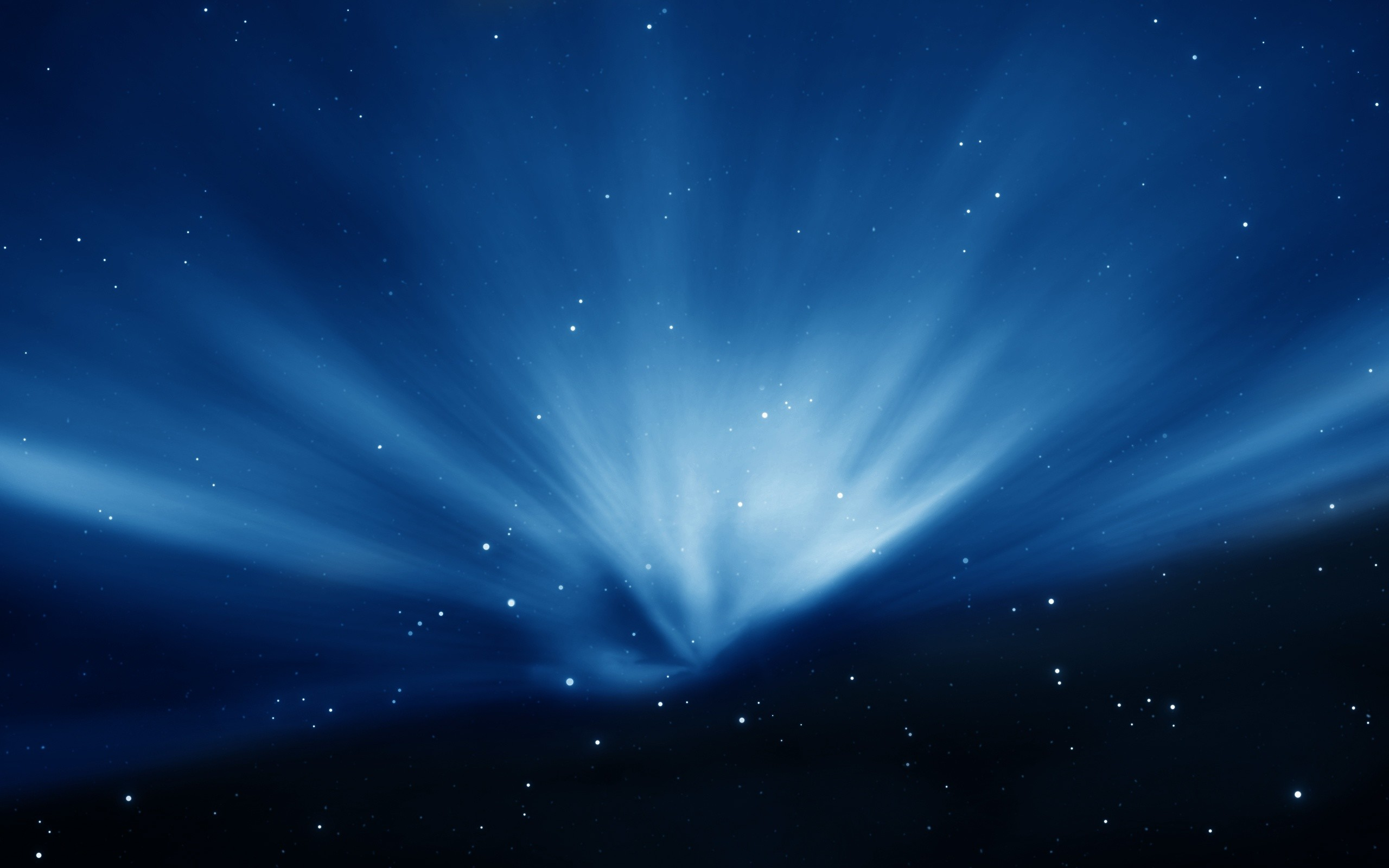 2560x1600 Apple Sky Blue Aurora