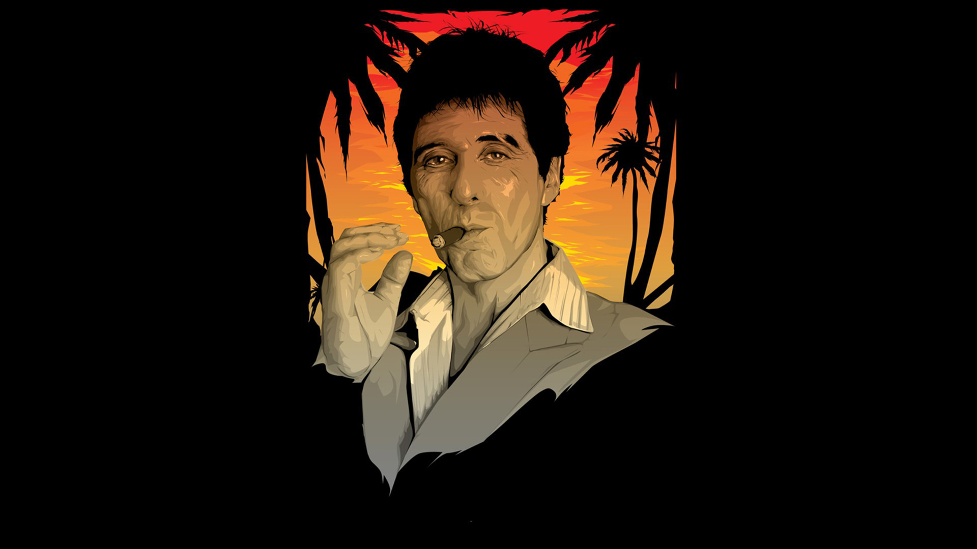 1920x1080 Scarface Full HD Wallpaper http://wallpapers-and-backgrounds.net/